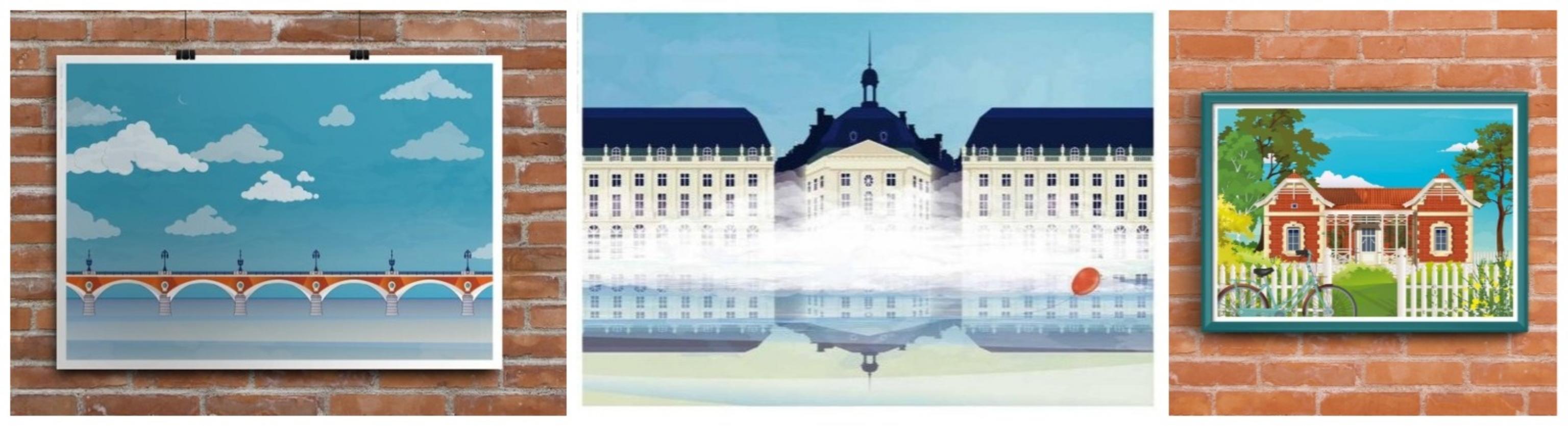 affiches Les Instantanés Bordeaux