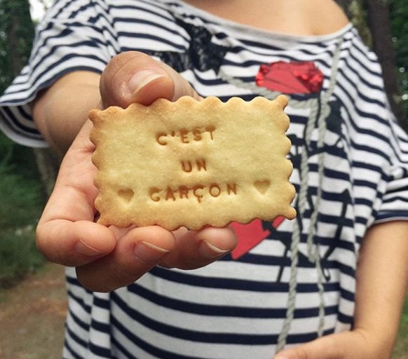 biscuit personnalisable