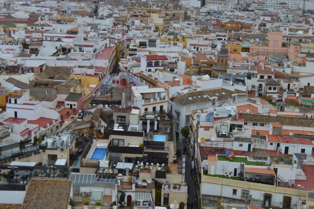vue depuis la Giralda de Séville