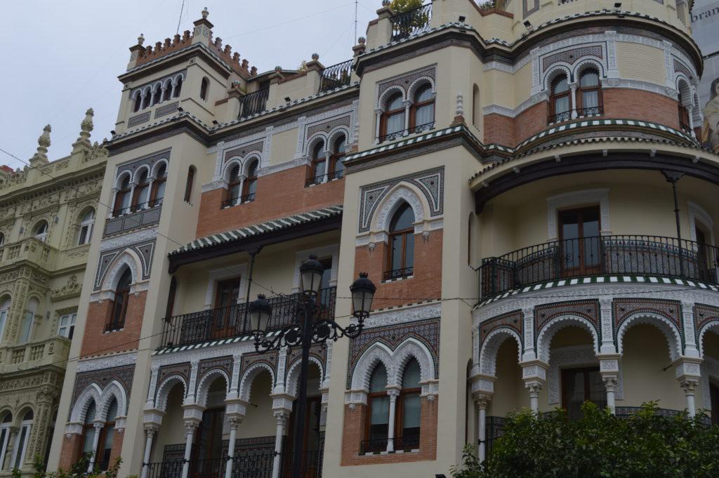 immeubles de Séville