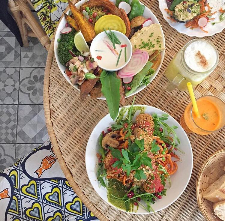 kitchen garden végétarien bordeaux