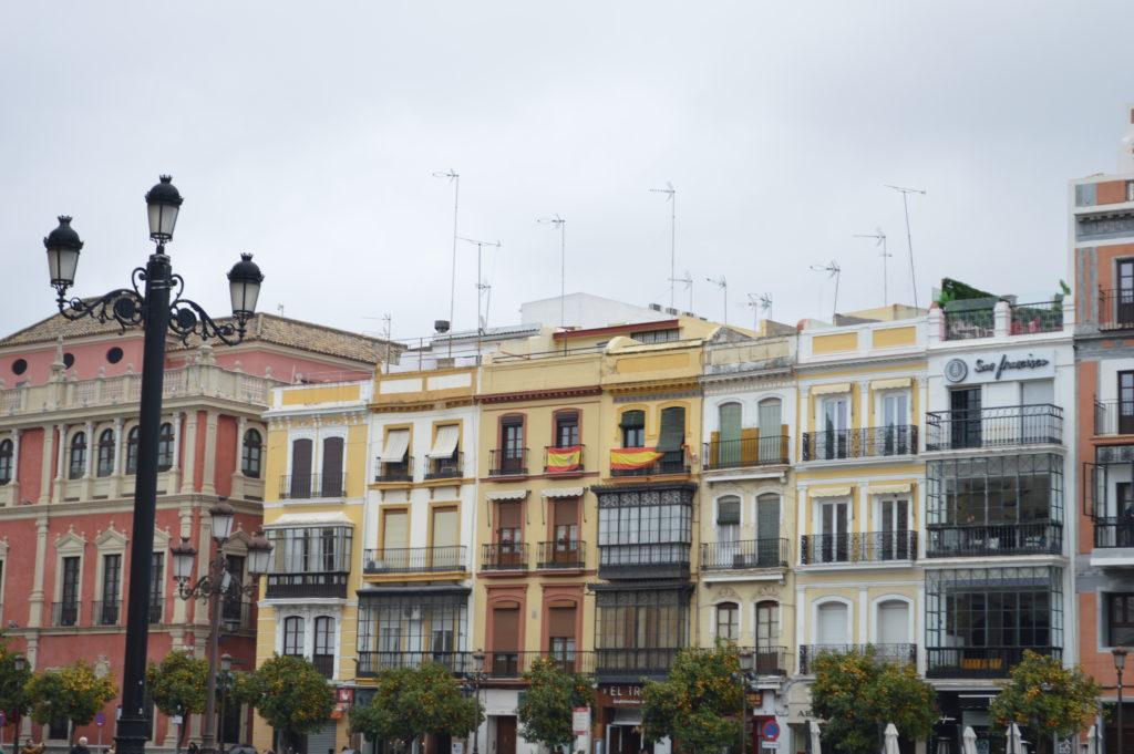 couleurs de Séville