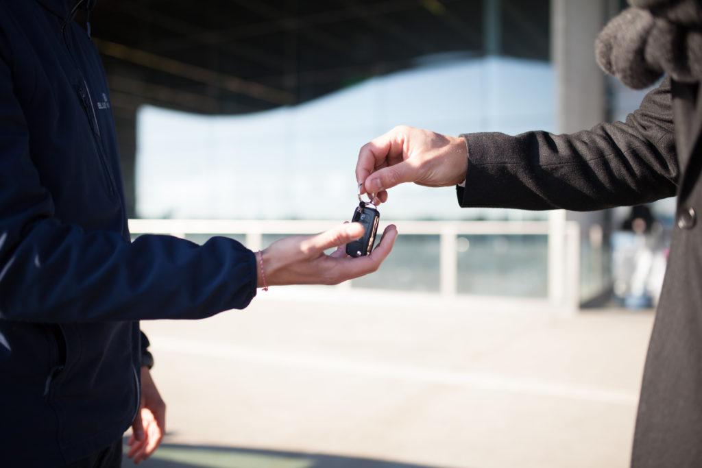service voiturier aéroport Bordeaux
