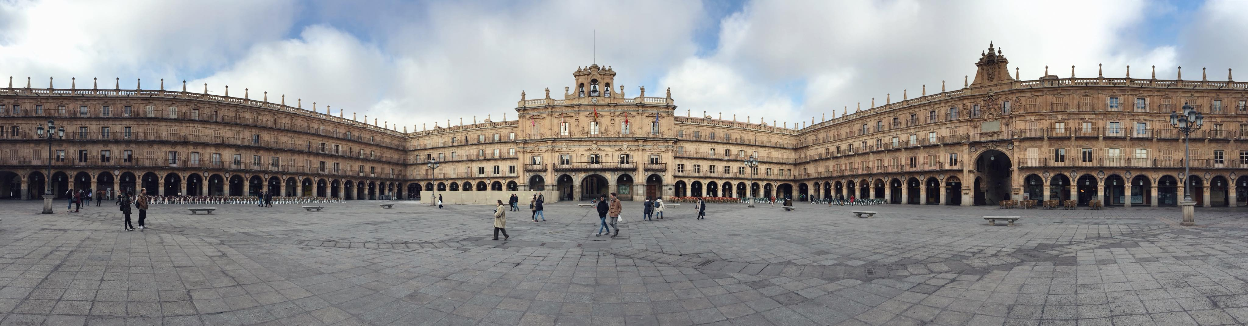 plaza mayor Salamanca 360