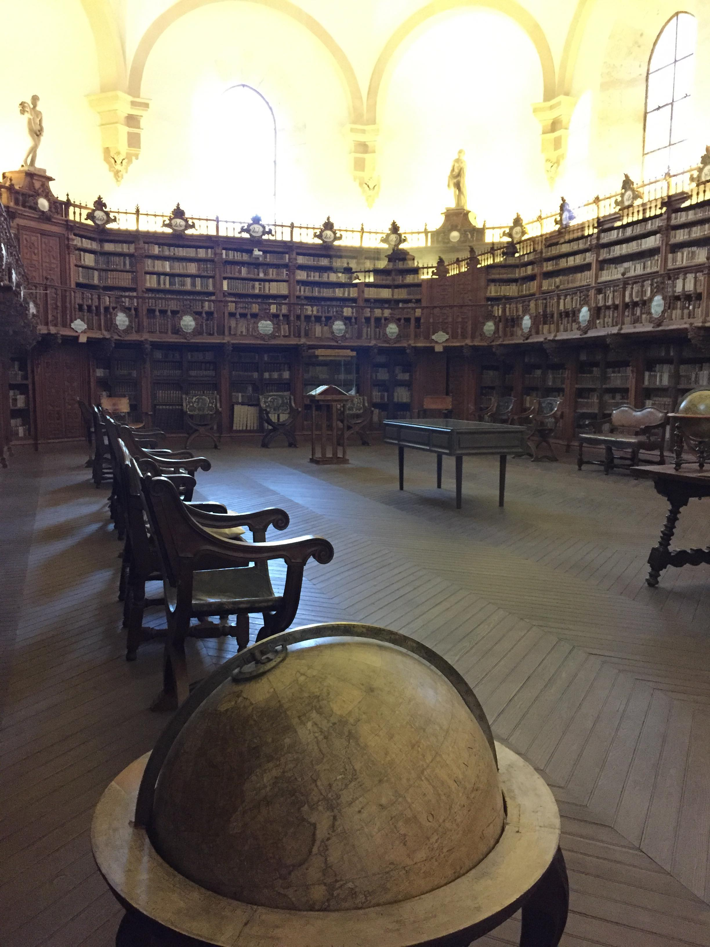 bibliothèque université de Salamanque