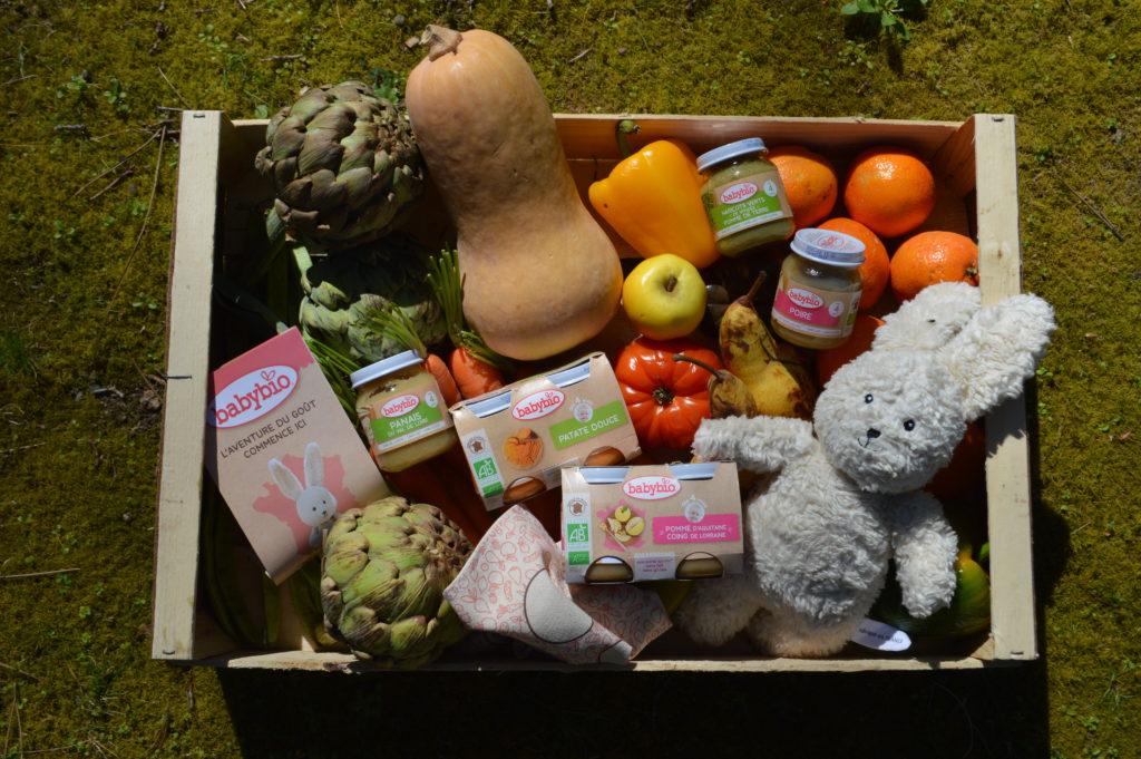 Baby bio petits pots made in Gironde