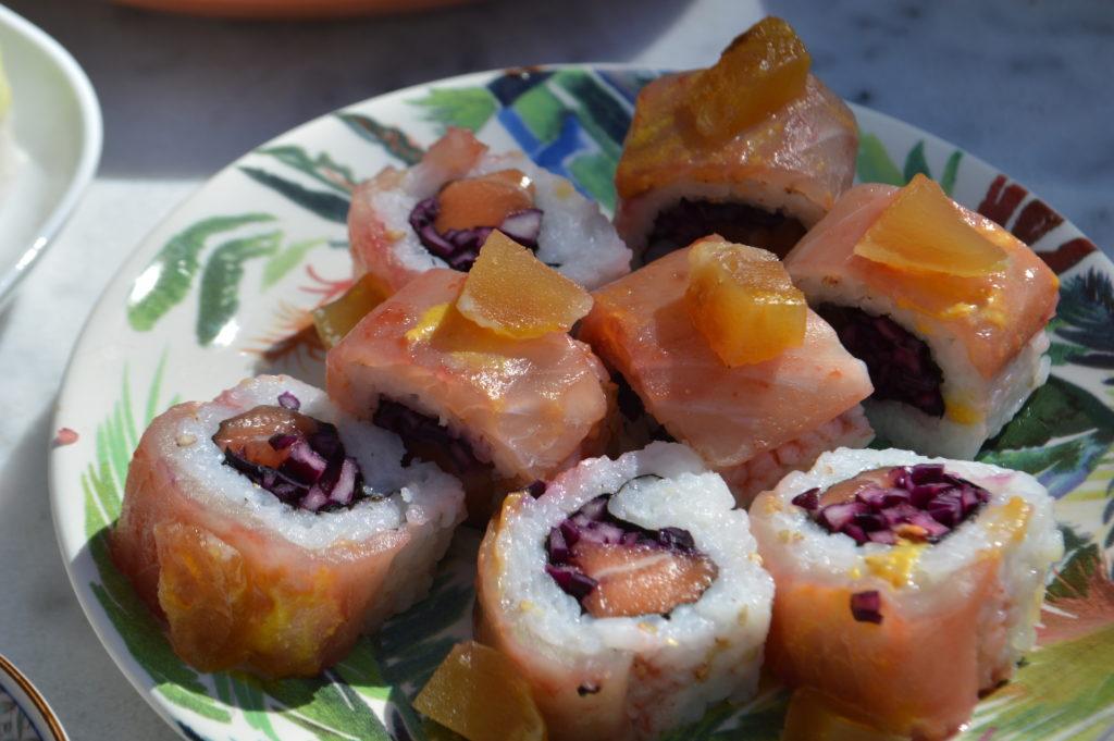 côté sushi Bordeaux nikkei food