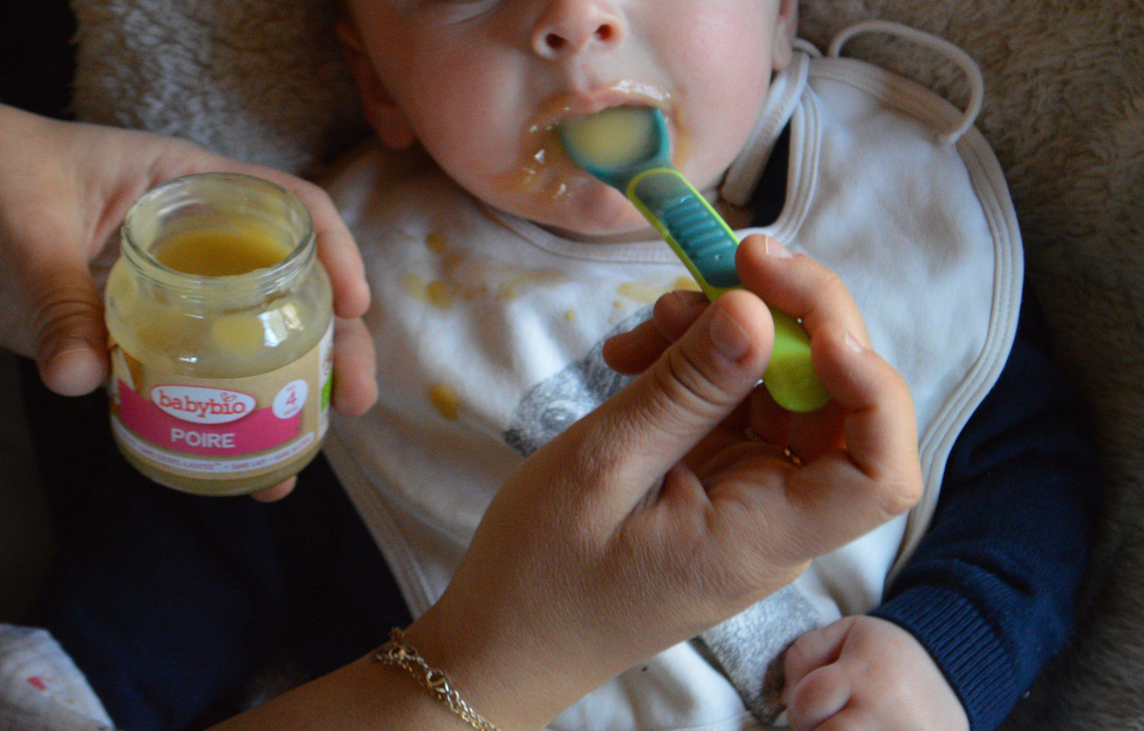 compote de poire Baby Bio