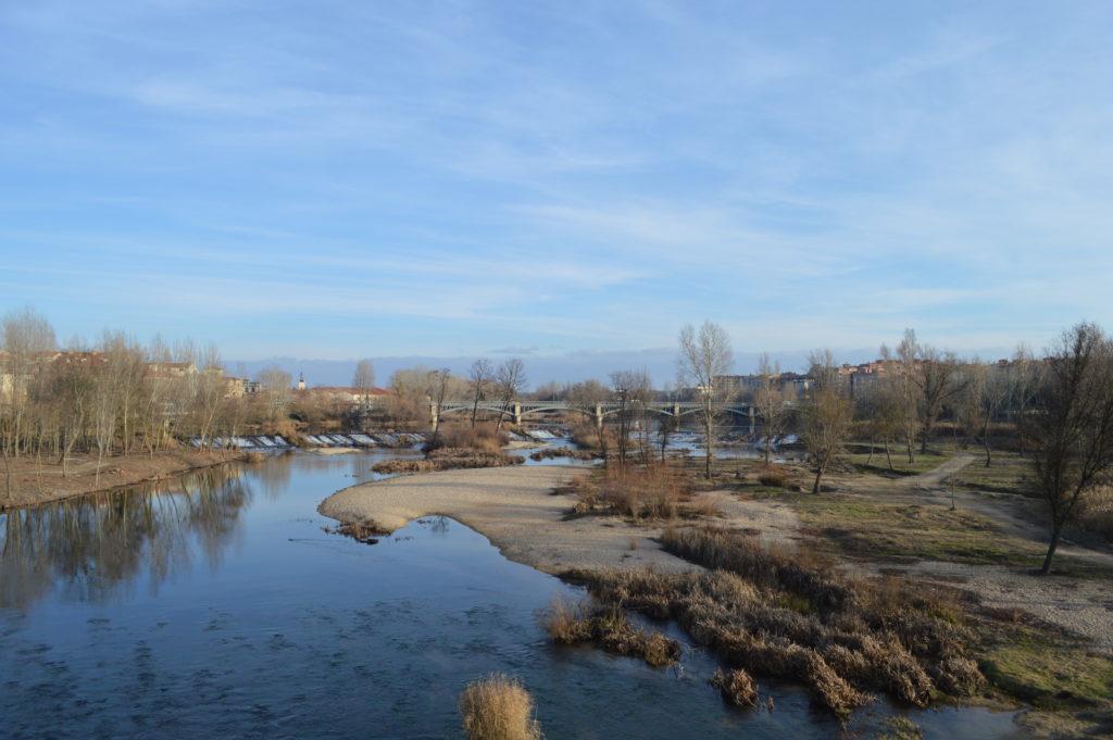 vue depuis le pont romain Salamanque