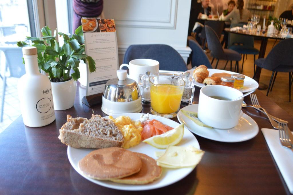 petit déjeuner hôtel de sèze