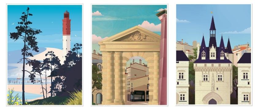 affiche Bordeaux Les Instantanés Bordeaux