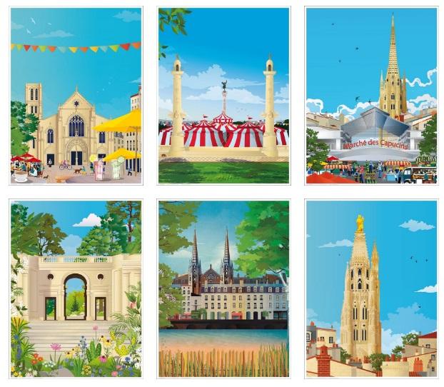 affiches Bordeaux