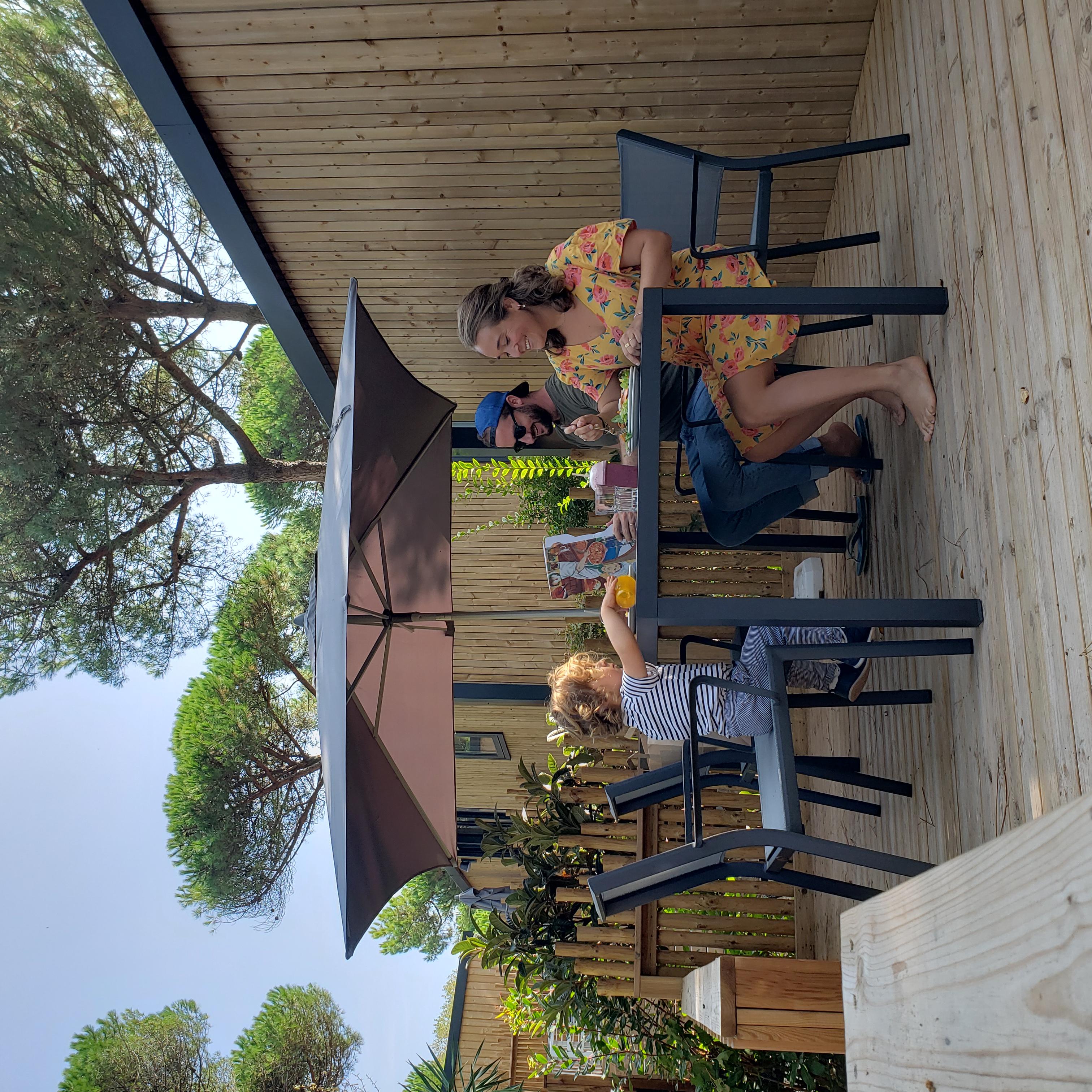 mobil home ile de Ré blog Camille in Bordeaux