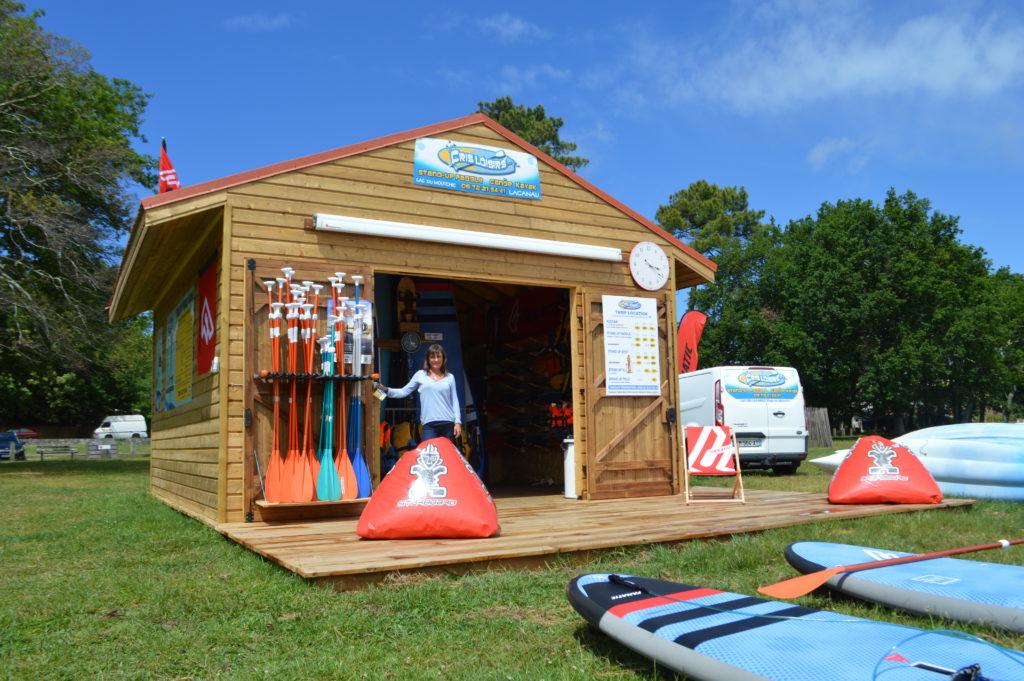 Cris loisirs location paddle kayak Lacanau