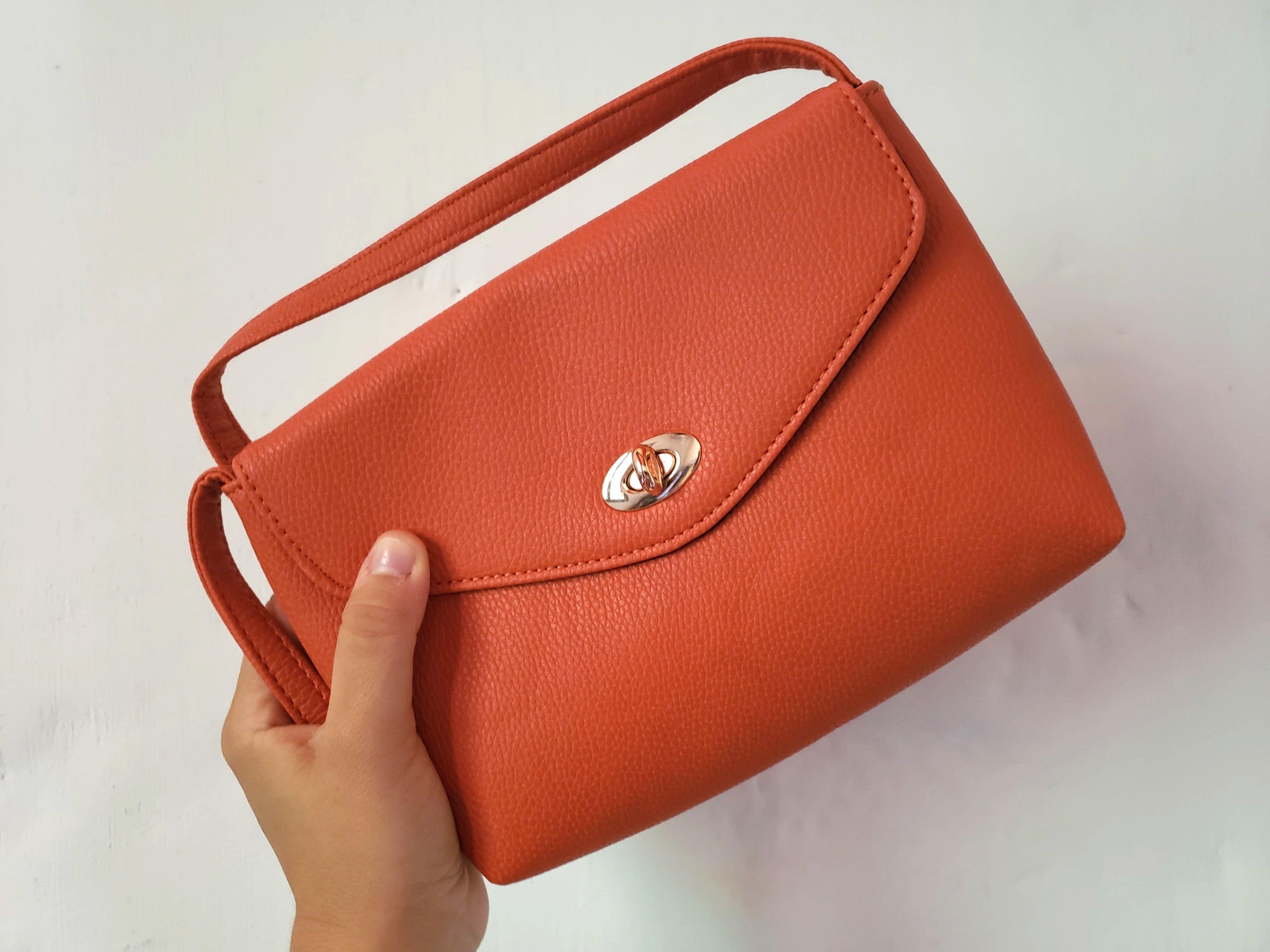 sac orange Zalando Privé