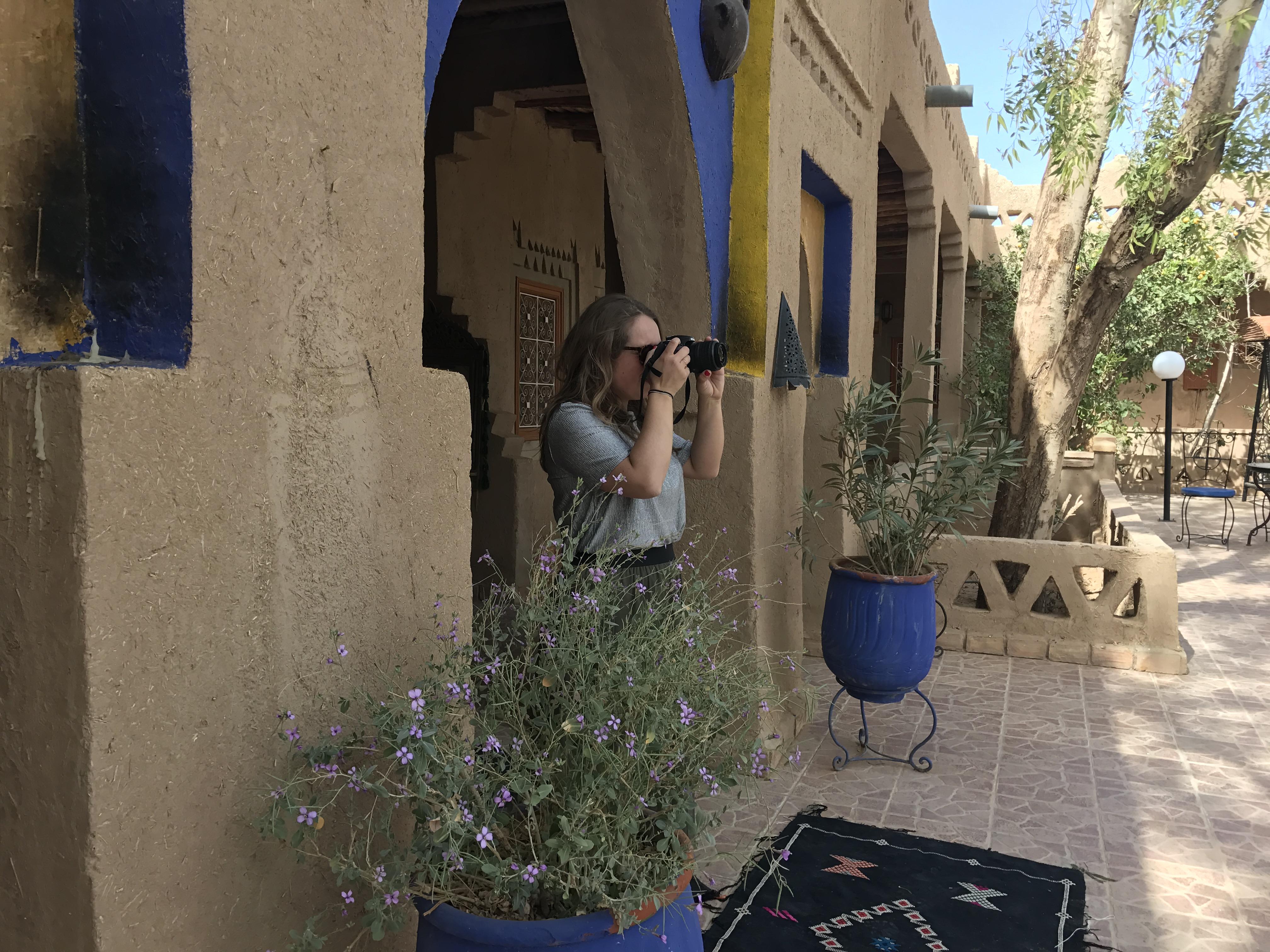 Camille in Bordeaux bons plans Maroc
