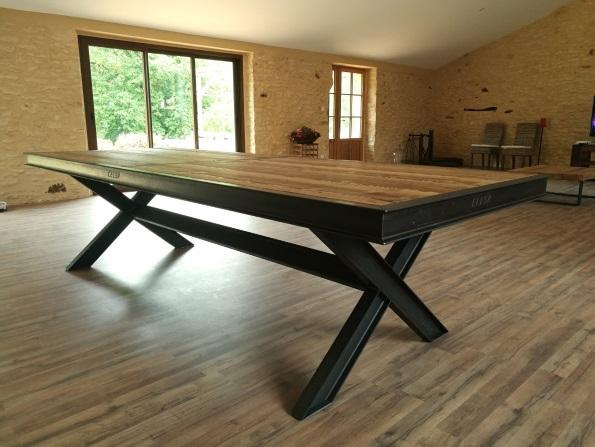 table bois métal Dordogne Camille In Bordeaux