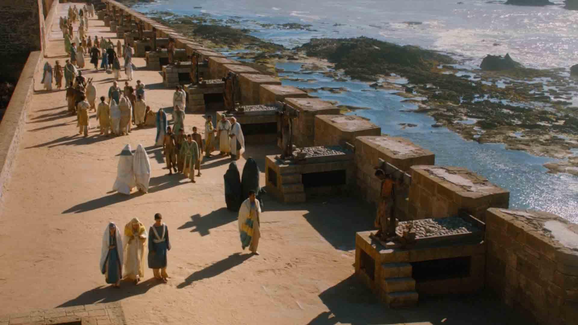 lieu de tournage Game of thrones Essaouira