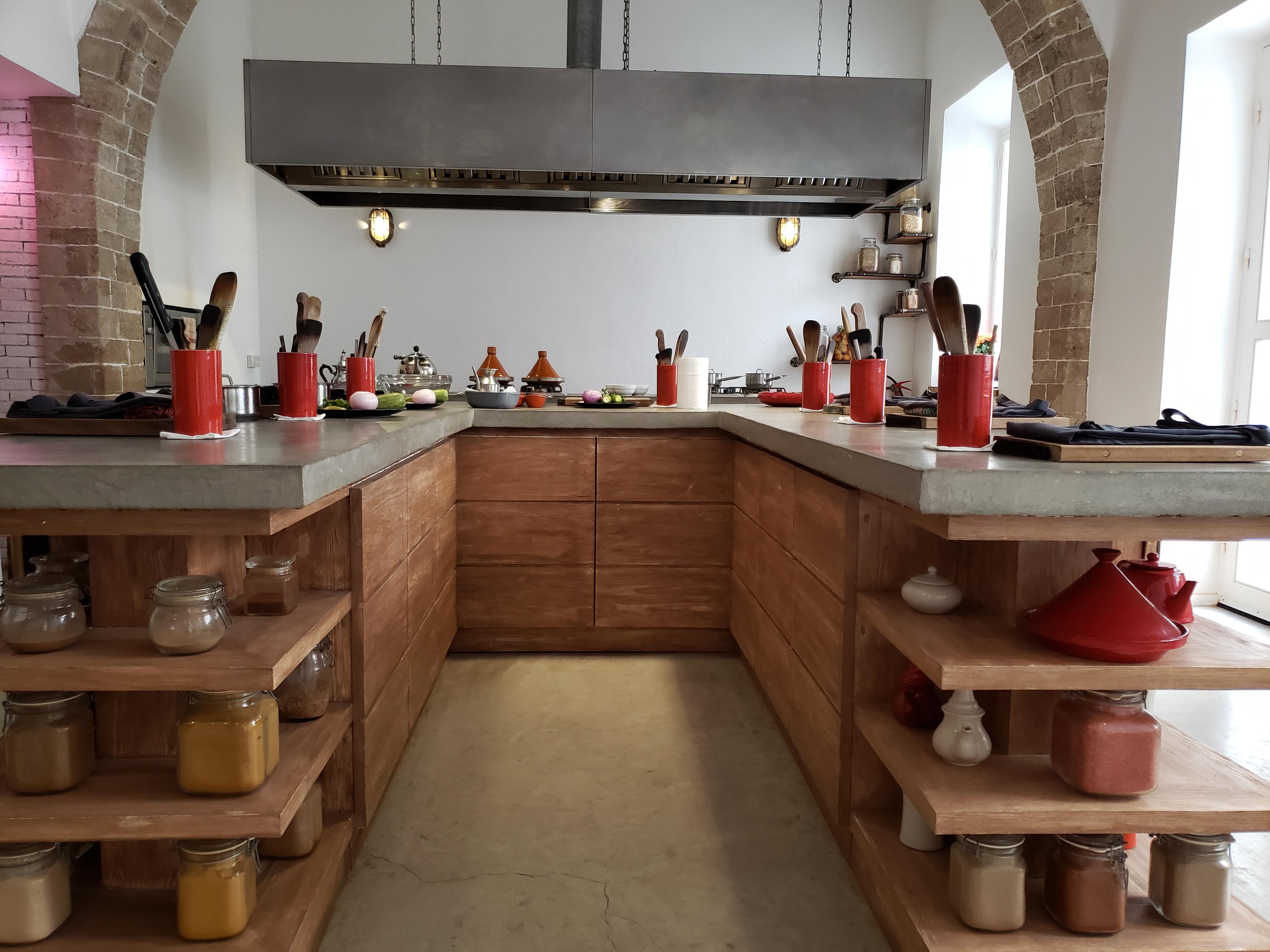 atelier cour cuisine marocaine Essaouira