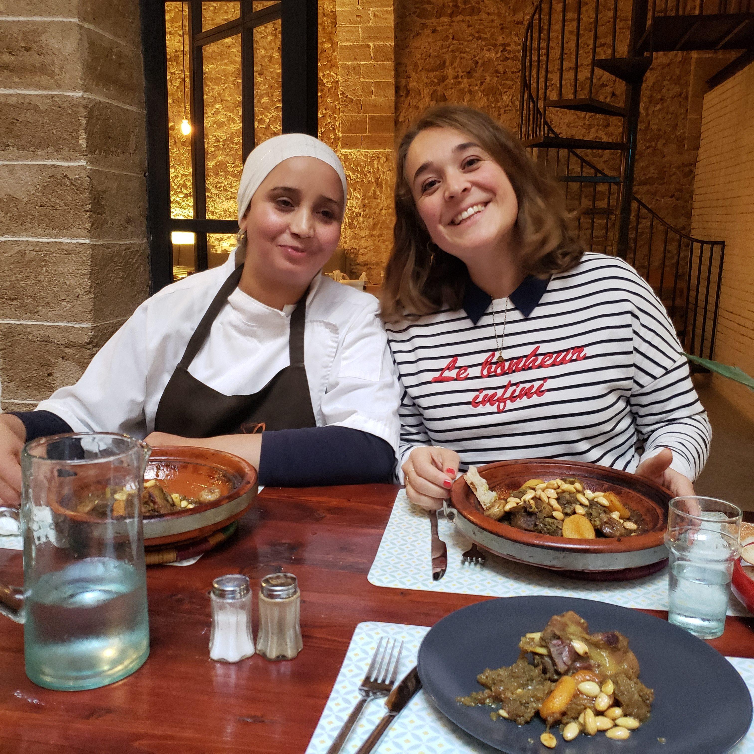 l'atelier cour cuisine marocaine Essaouira
