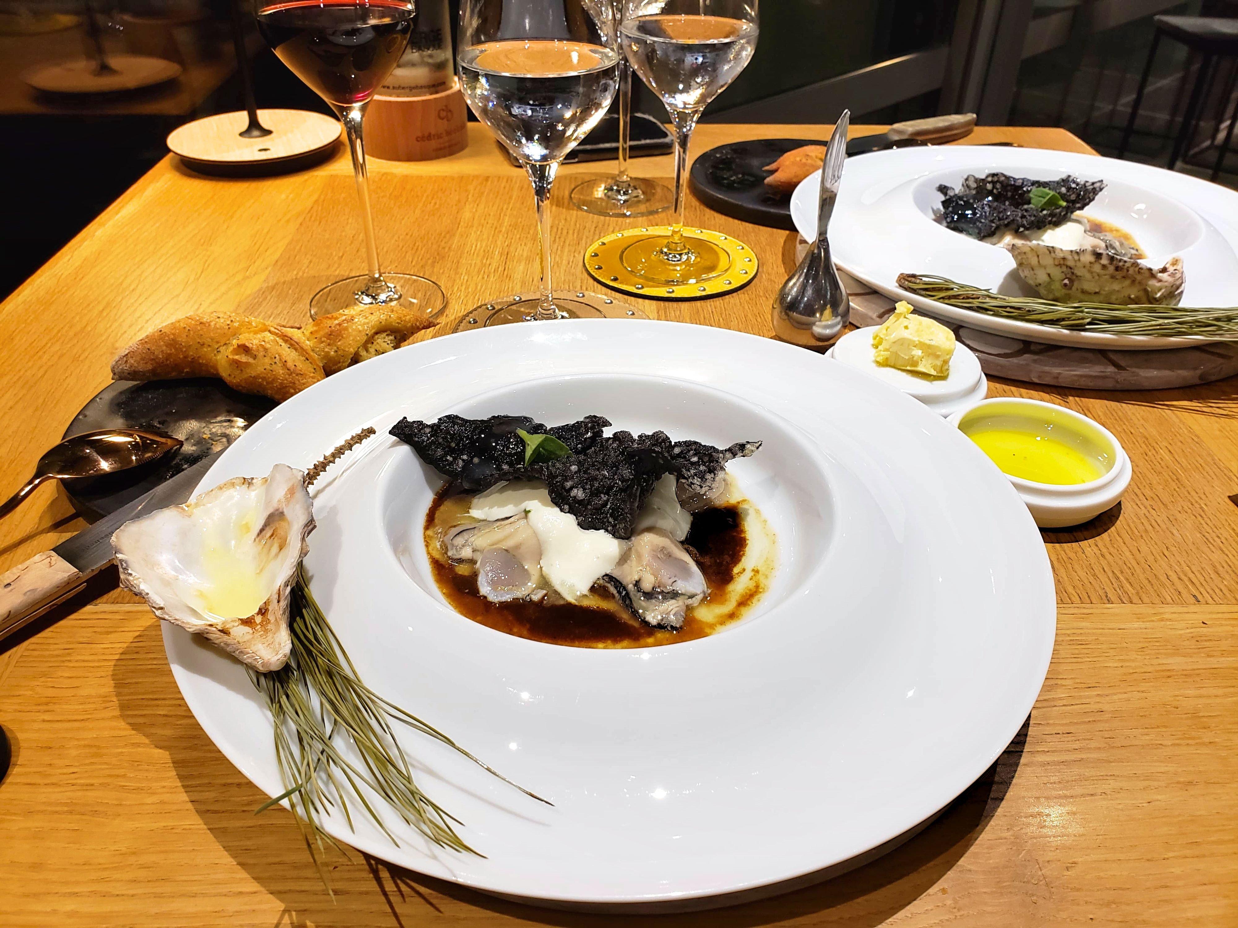 diner gastronomique Auberge Basque