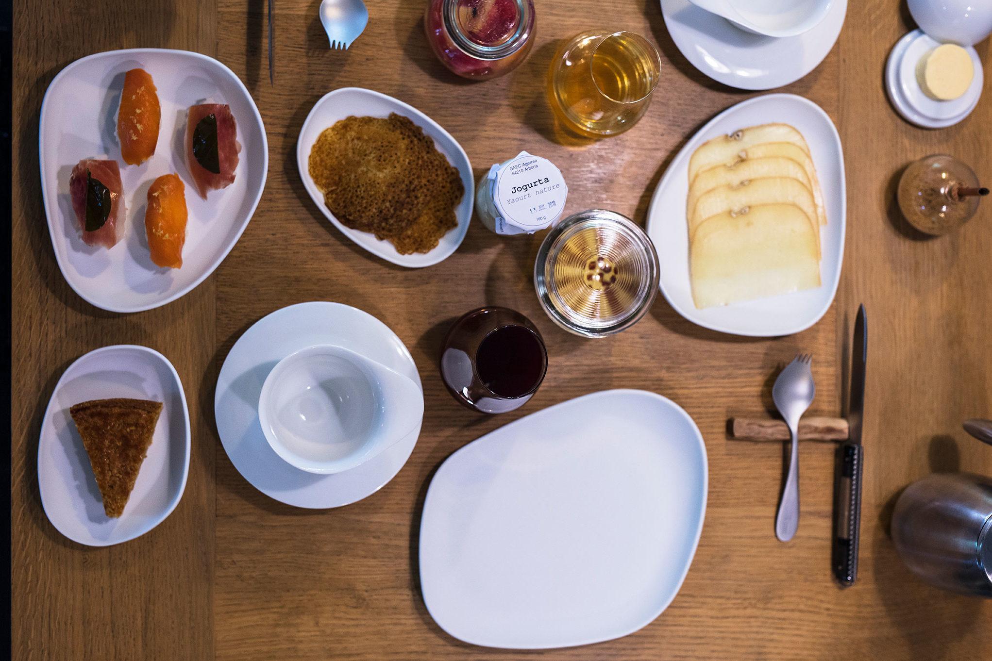petit déjeuner l'Auberge Basque