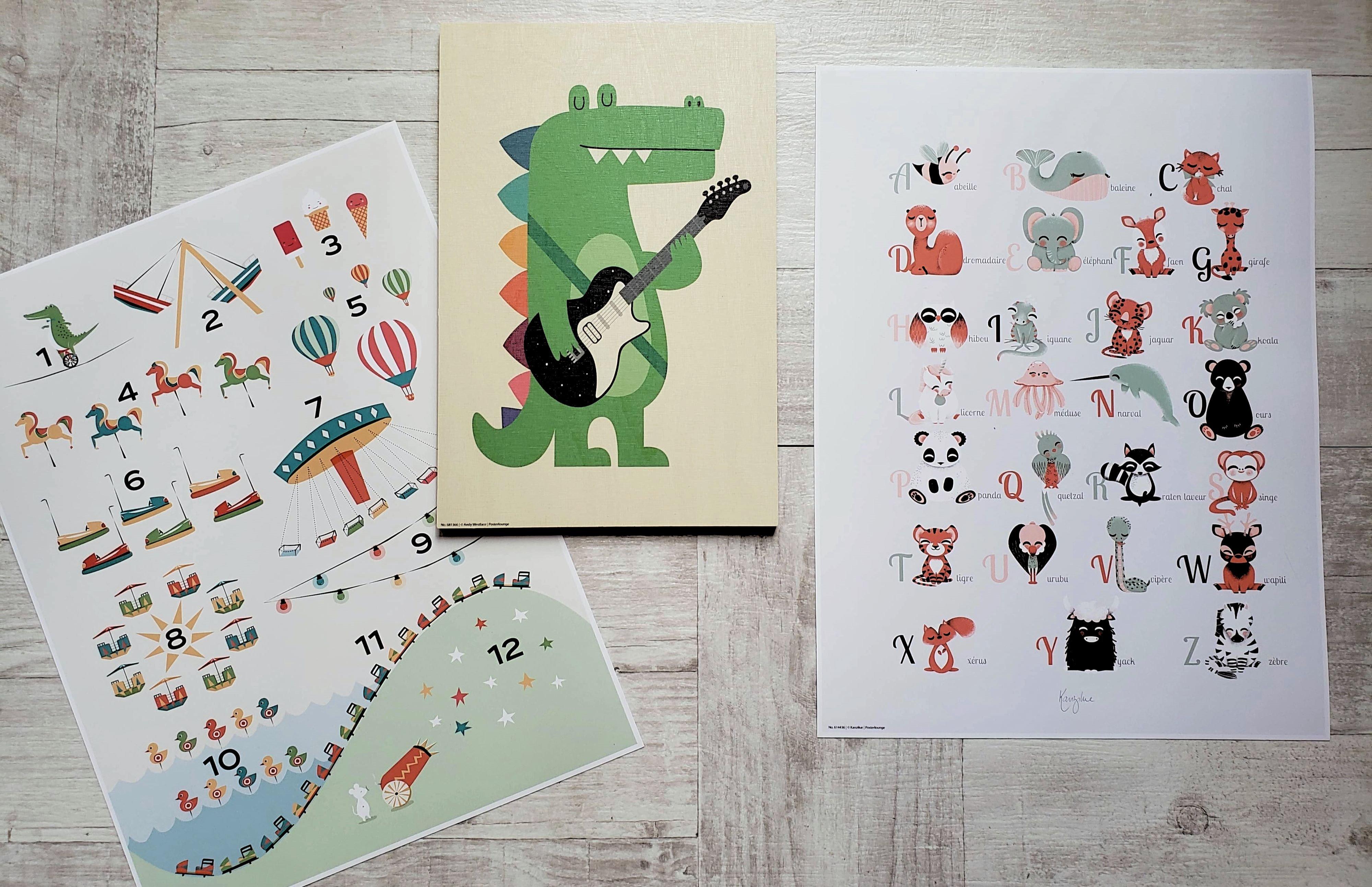 posters pour enfants Posterlounge