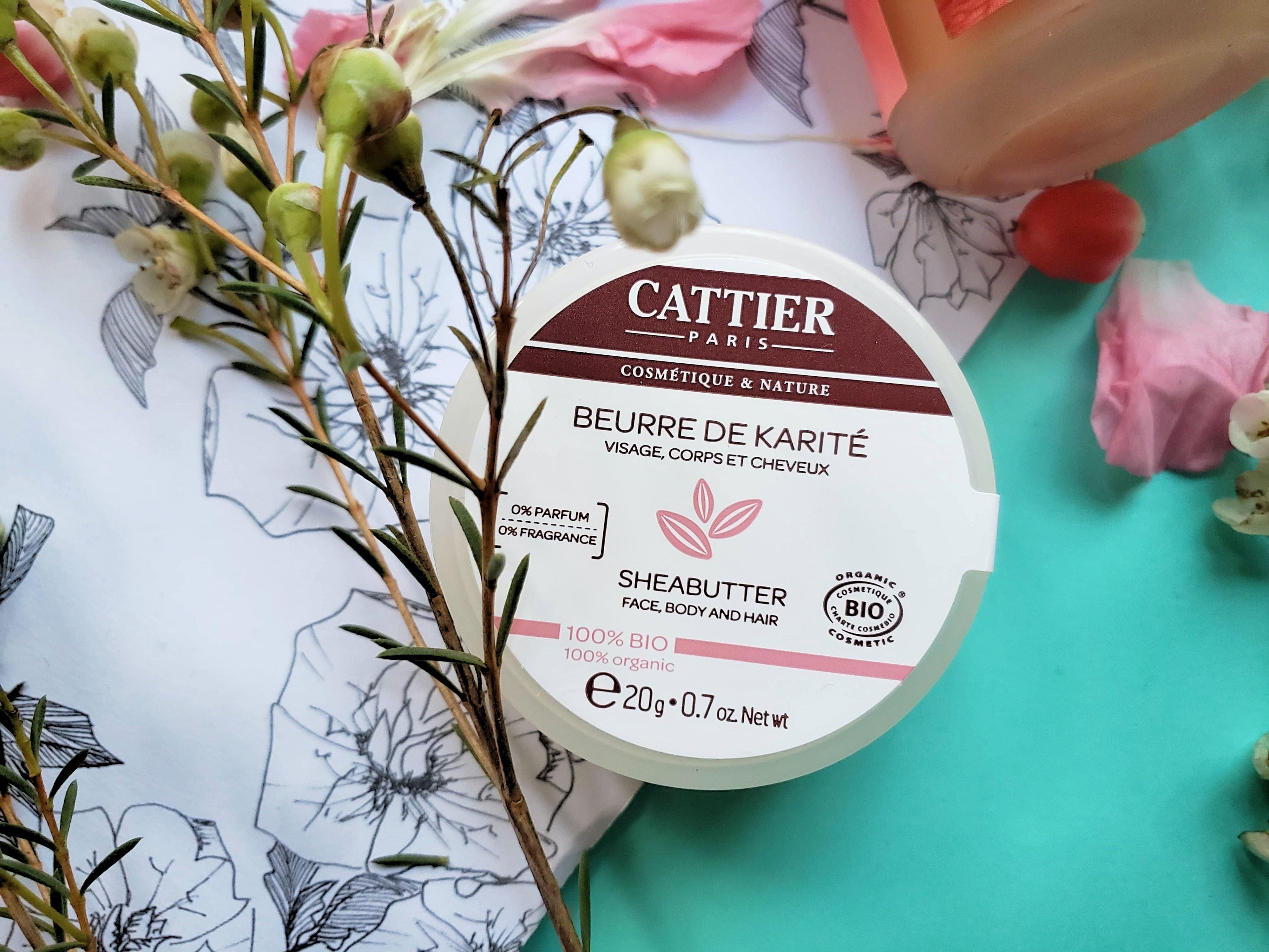 beurre de karité Cattier bio