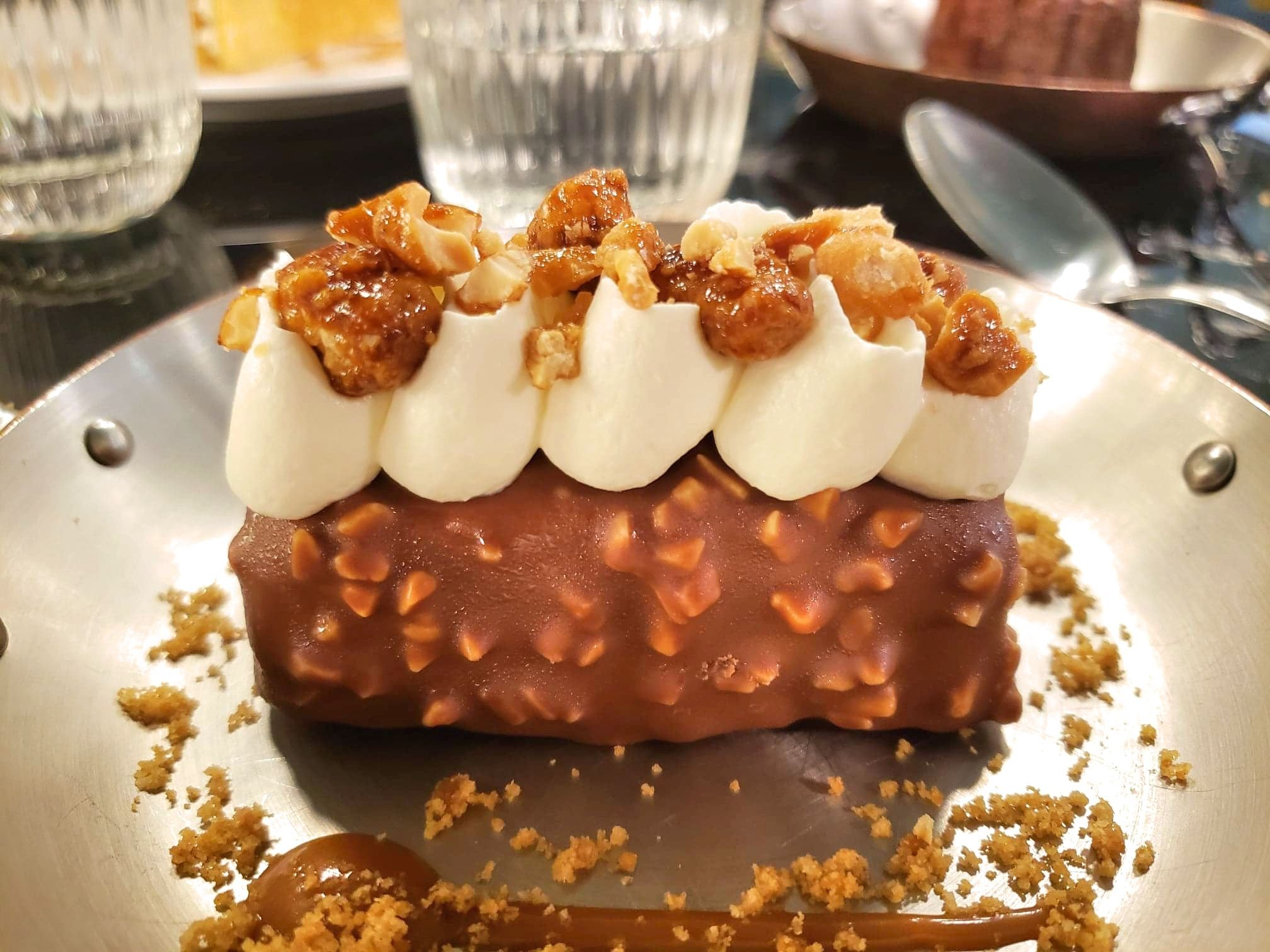 dessert cacahuète BIG Bistrot Girondin restaurant Bordeaux