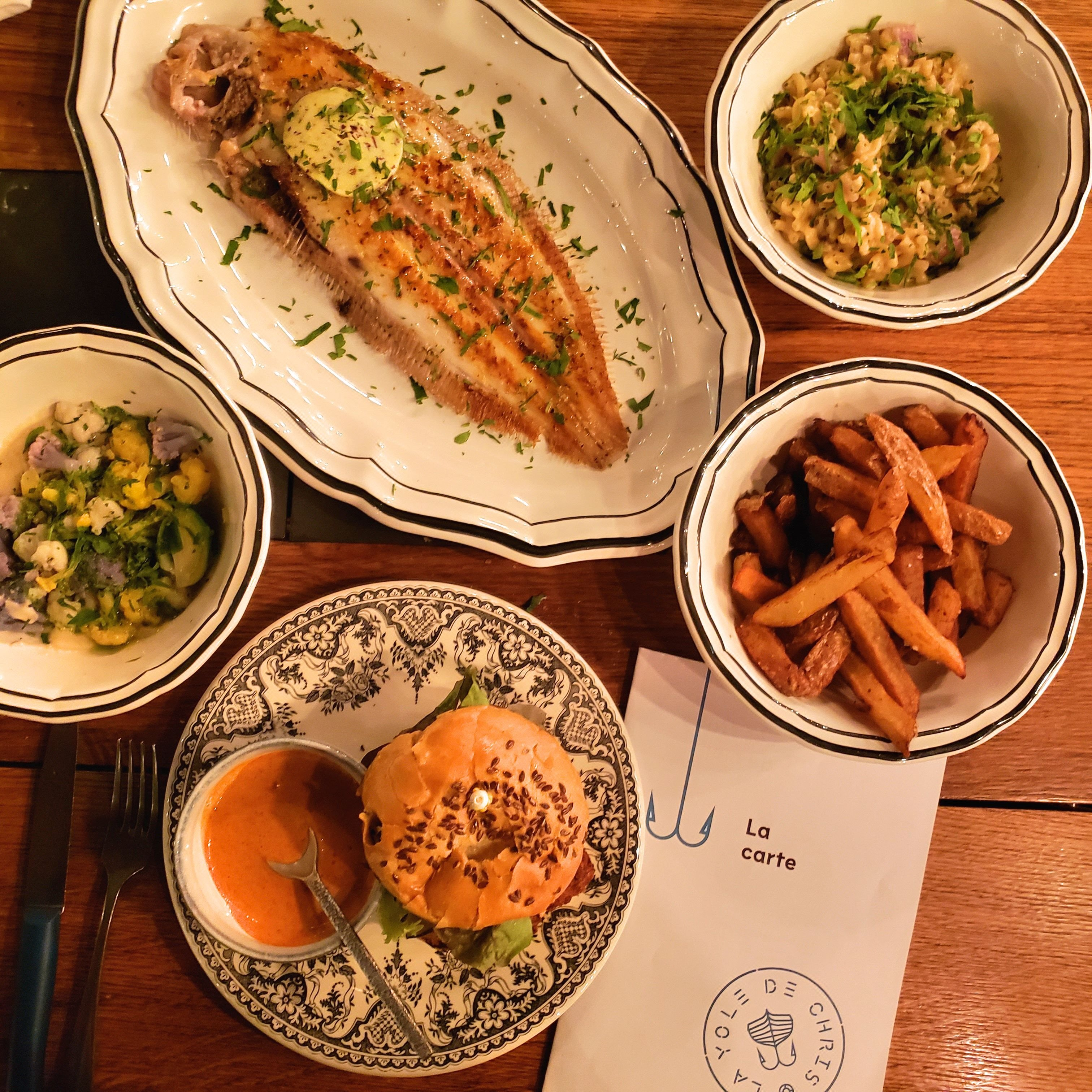 La Yole de Chris restaurant La Rochelle