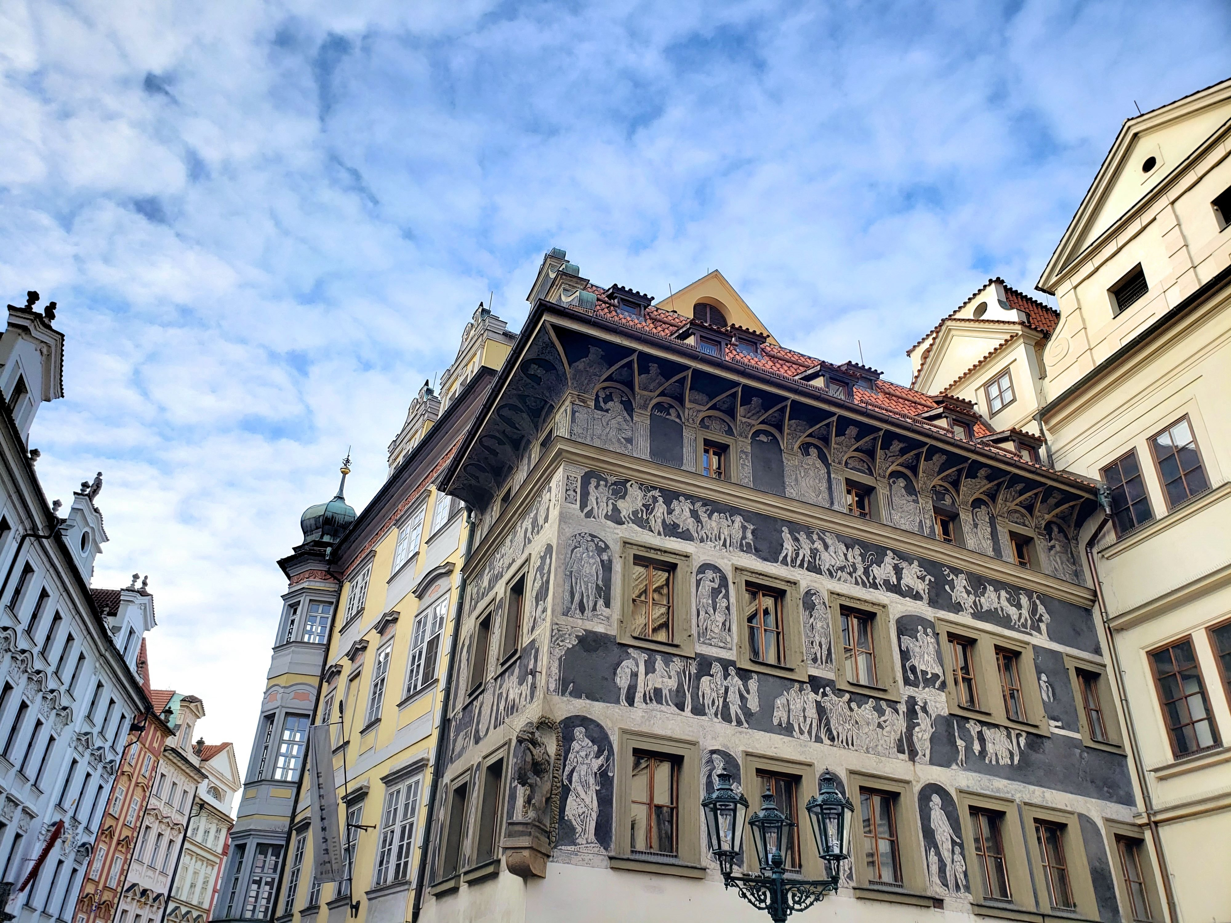 maison fresque Prague