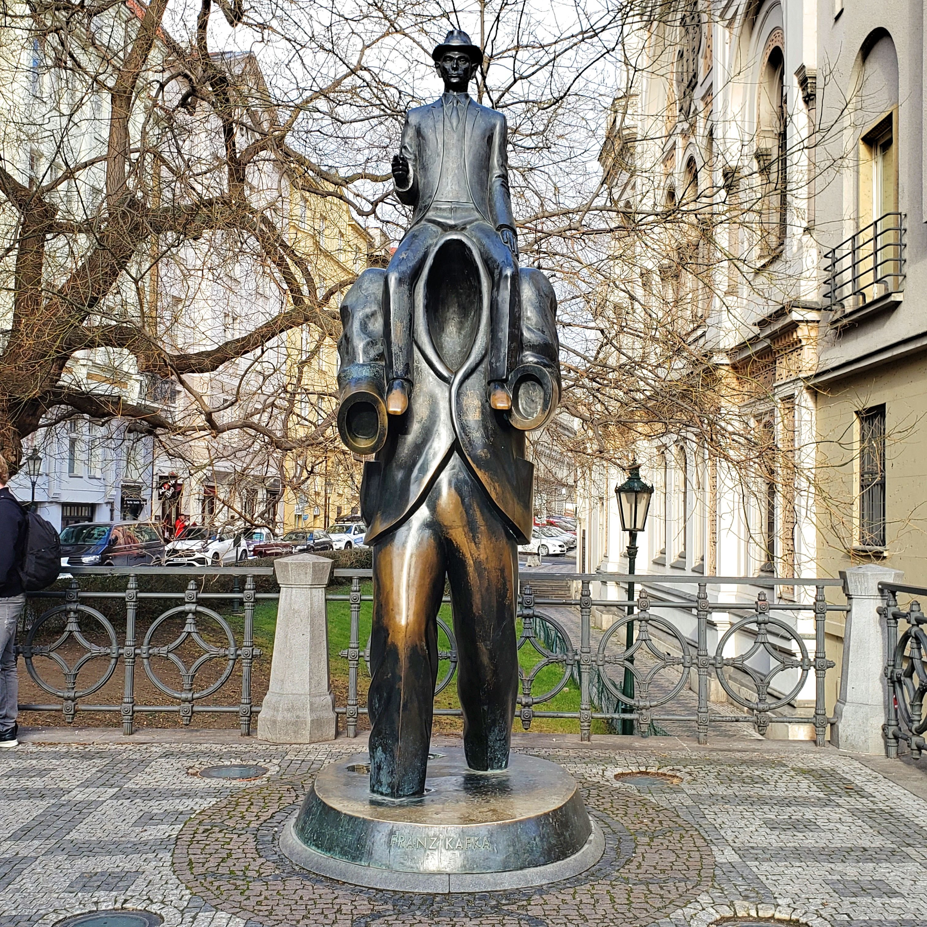 statue de Kafka Prague