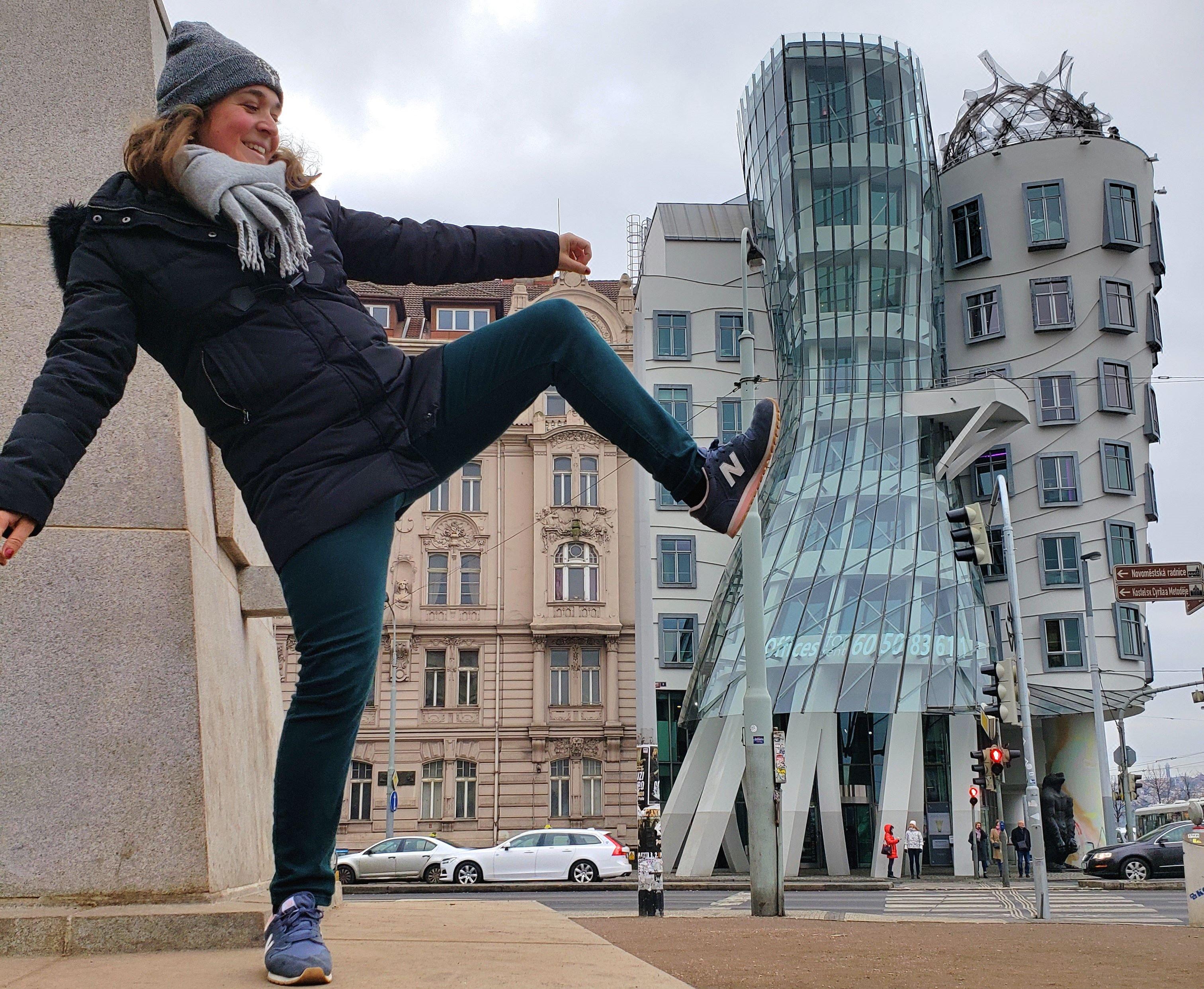 maison qui danse Prague
