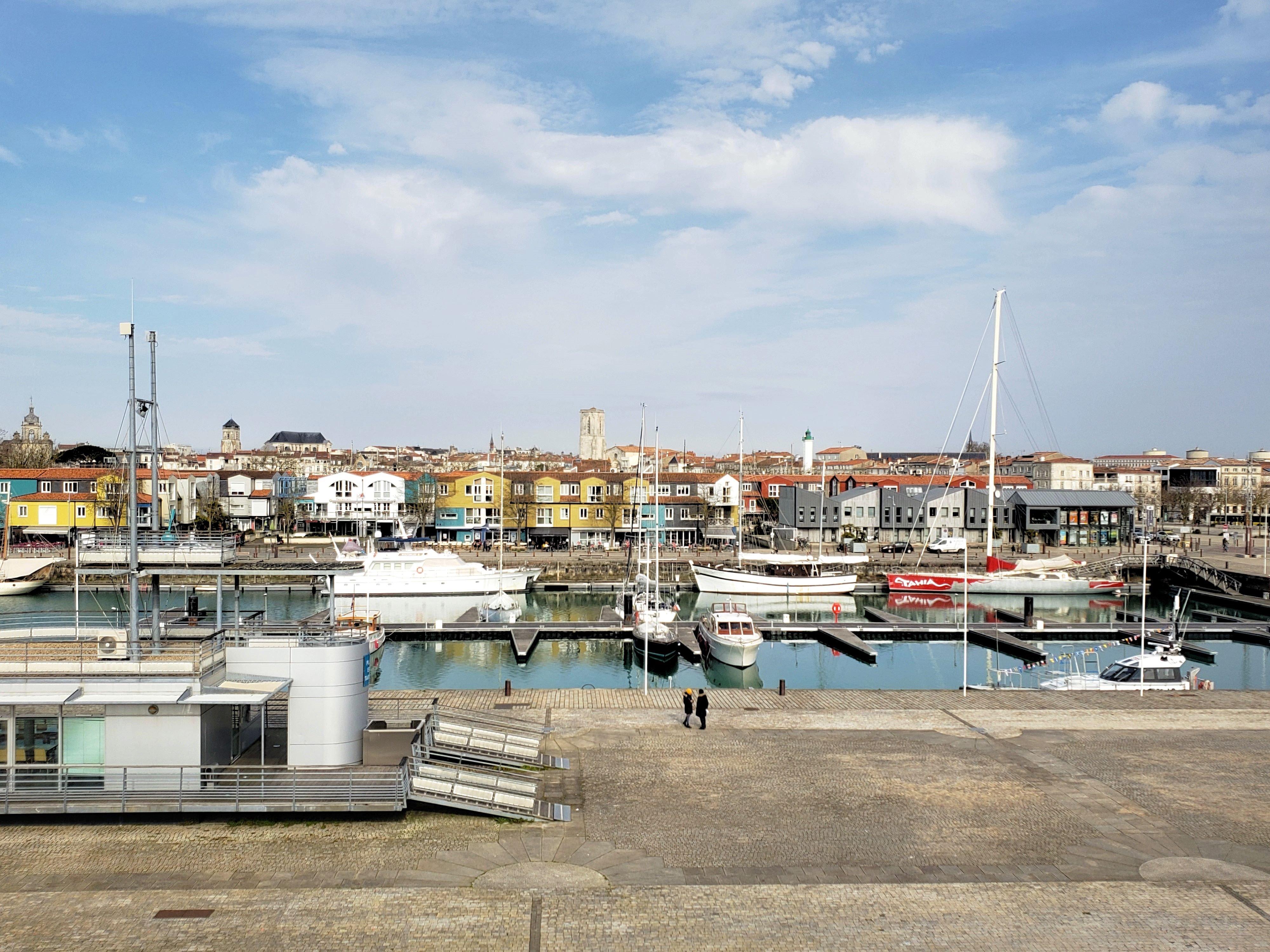 brasserie là-haut aquarium La Rochelle