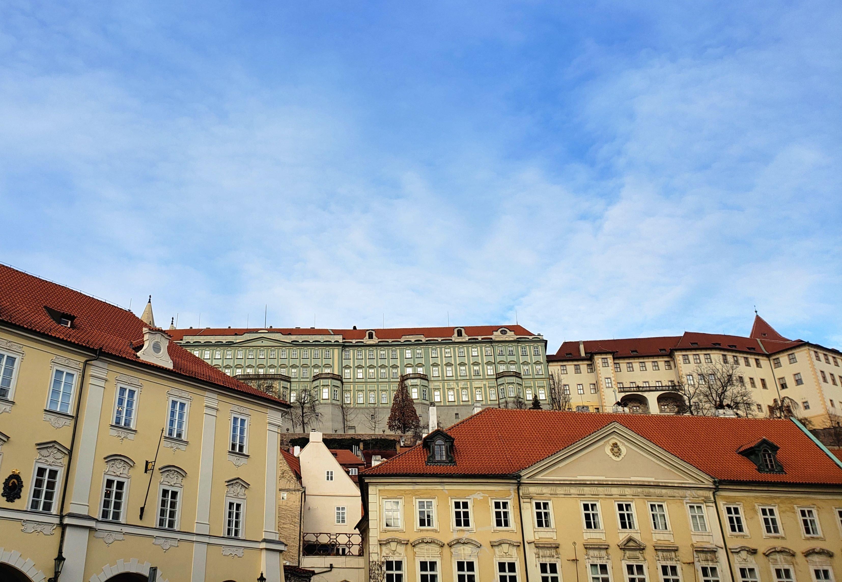 vue depuis hôtel Waldstein Prague