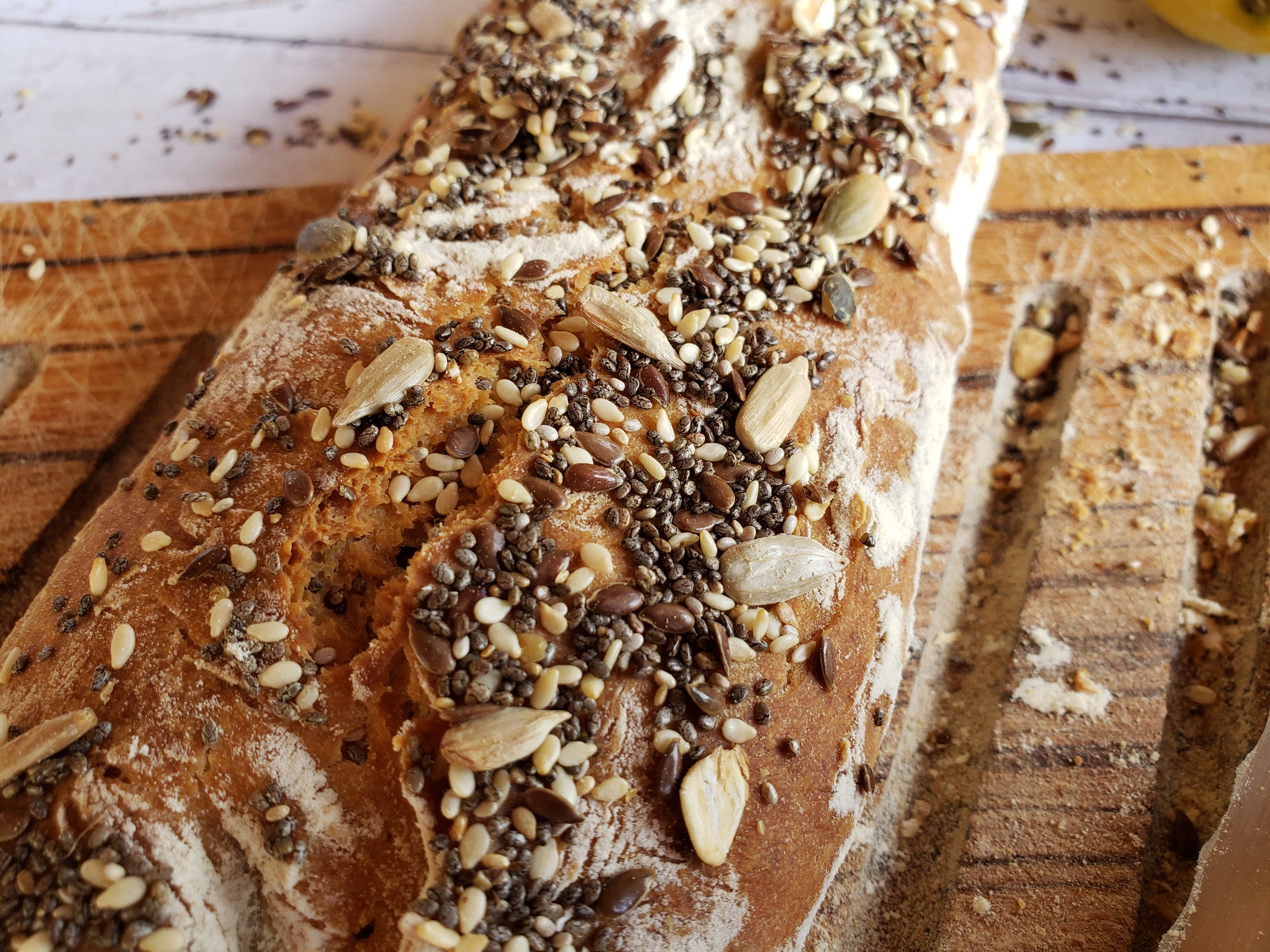recette express de pain maison sans machine