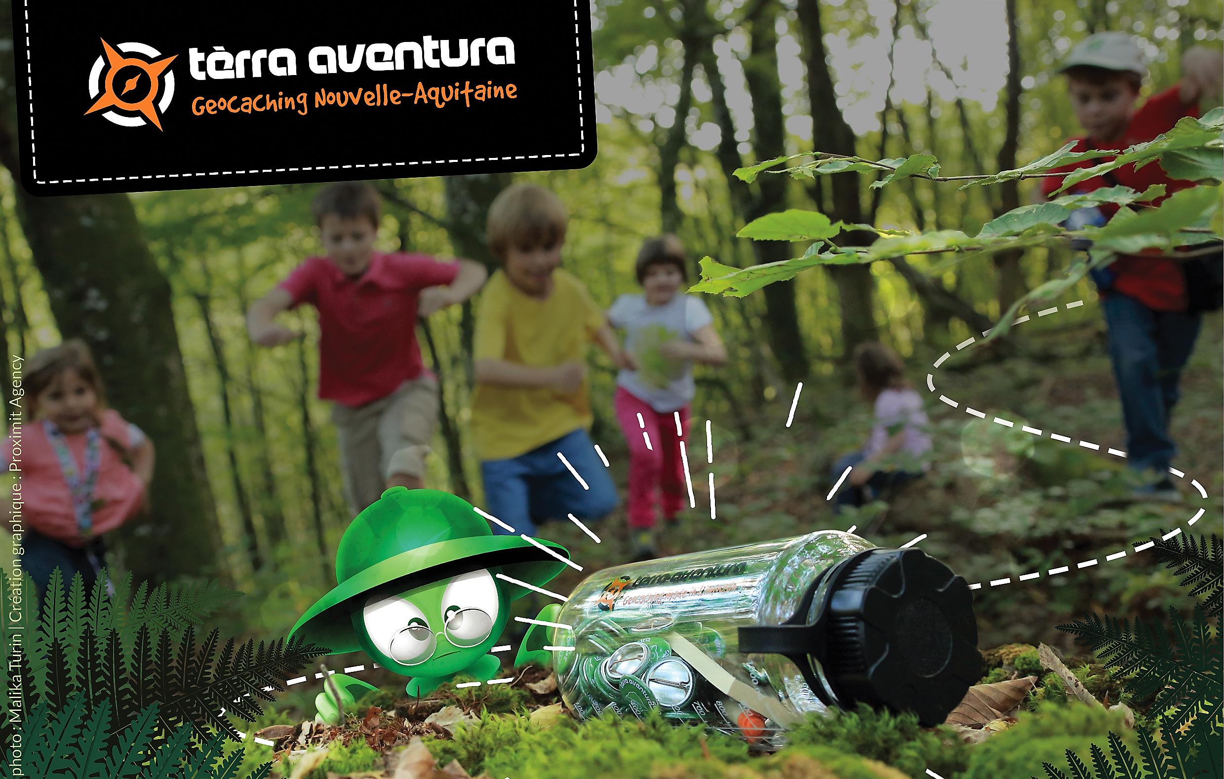 géocoaching Aquitaine Terra Aventura