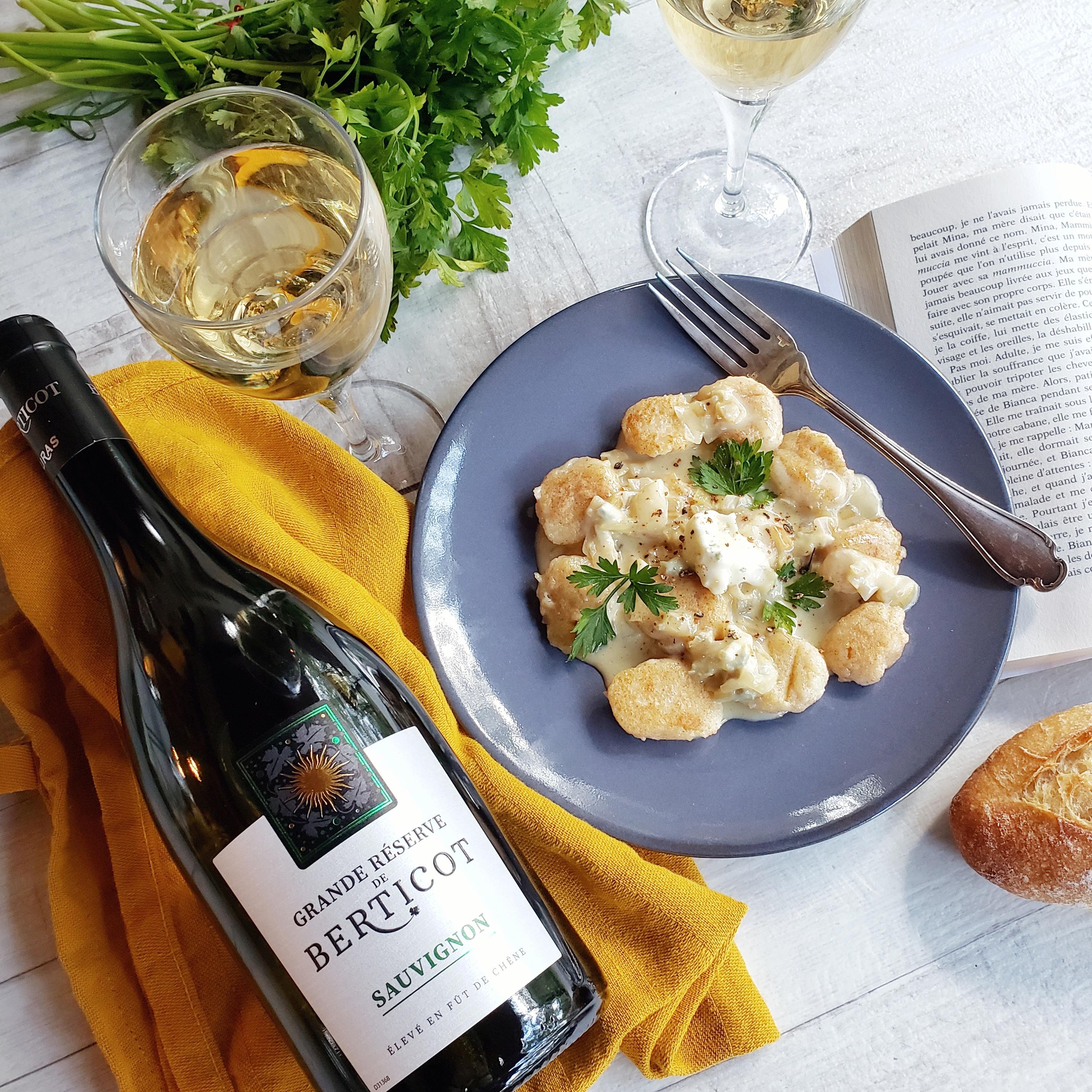accord mets et vin Sauvignon Terre de Vignerons
