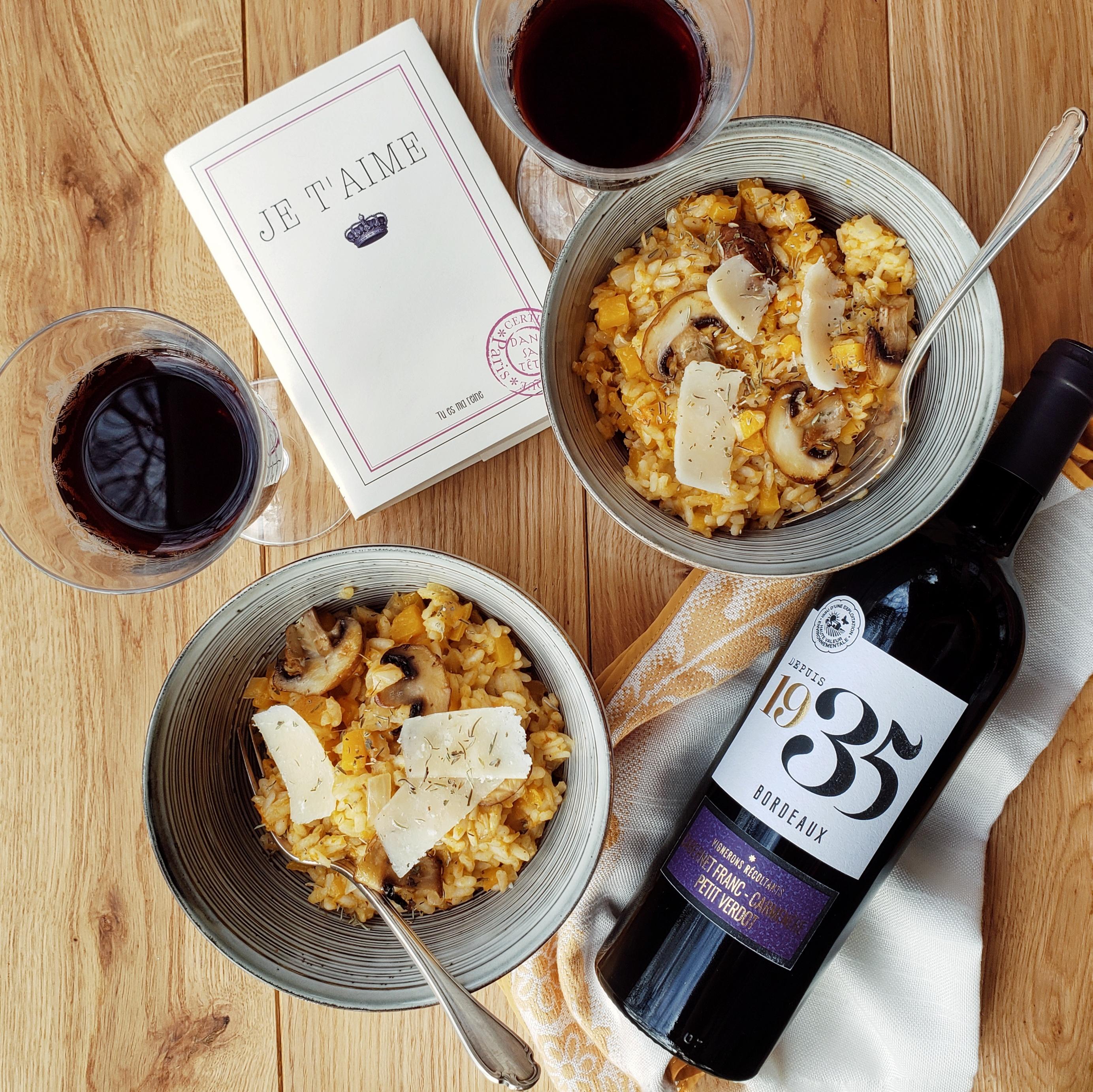 accord mets et vin rouge de Bordeaux Terre de Vignerons