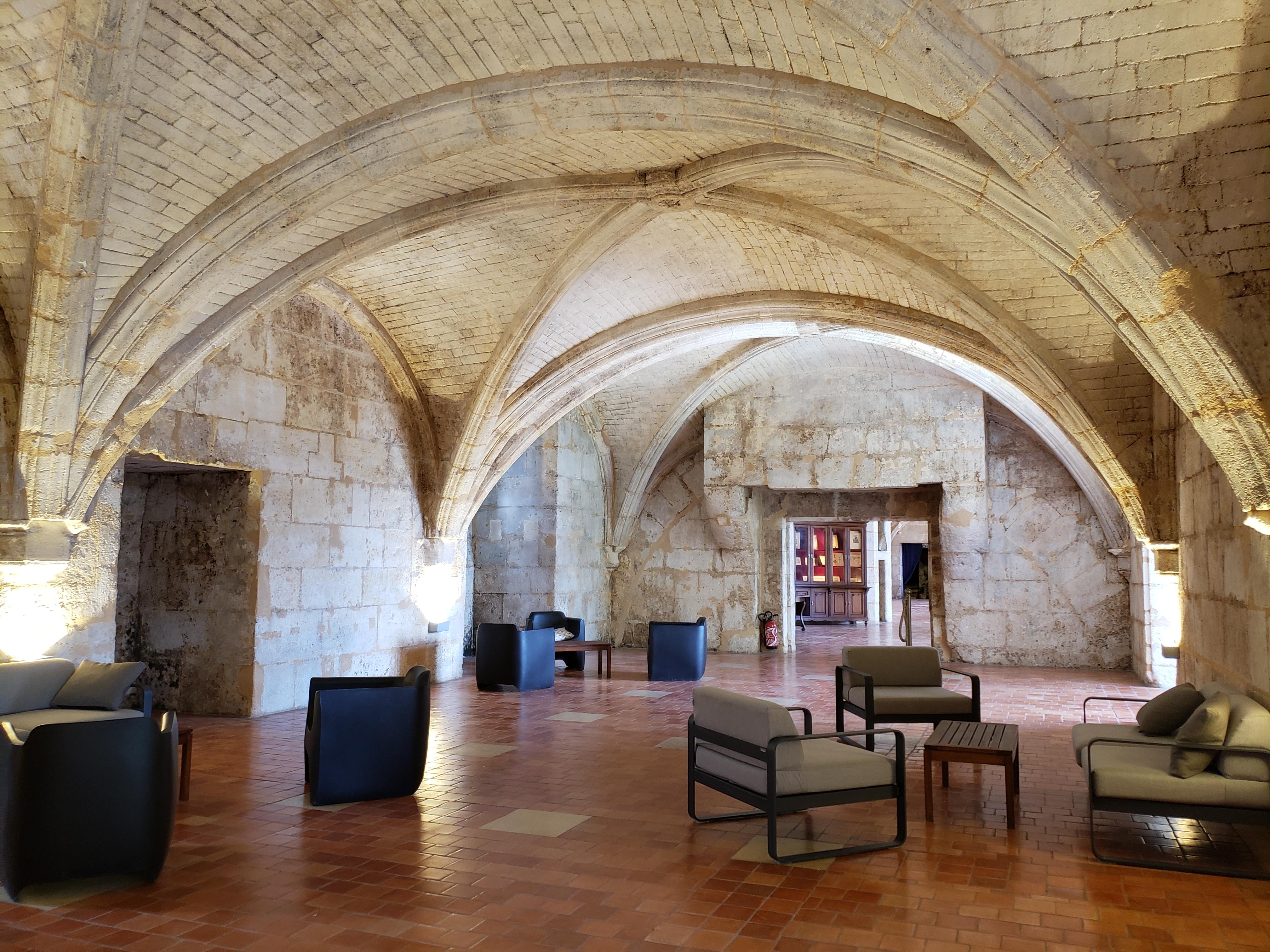 baron Otard visite du Château Royal de Cognac