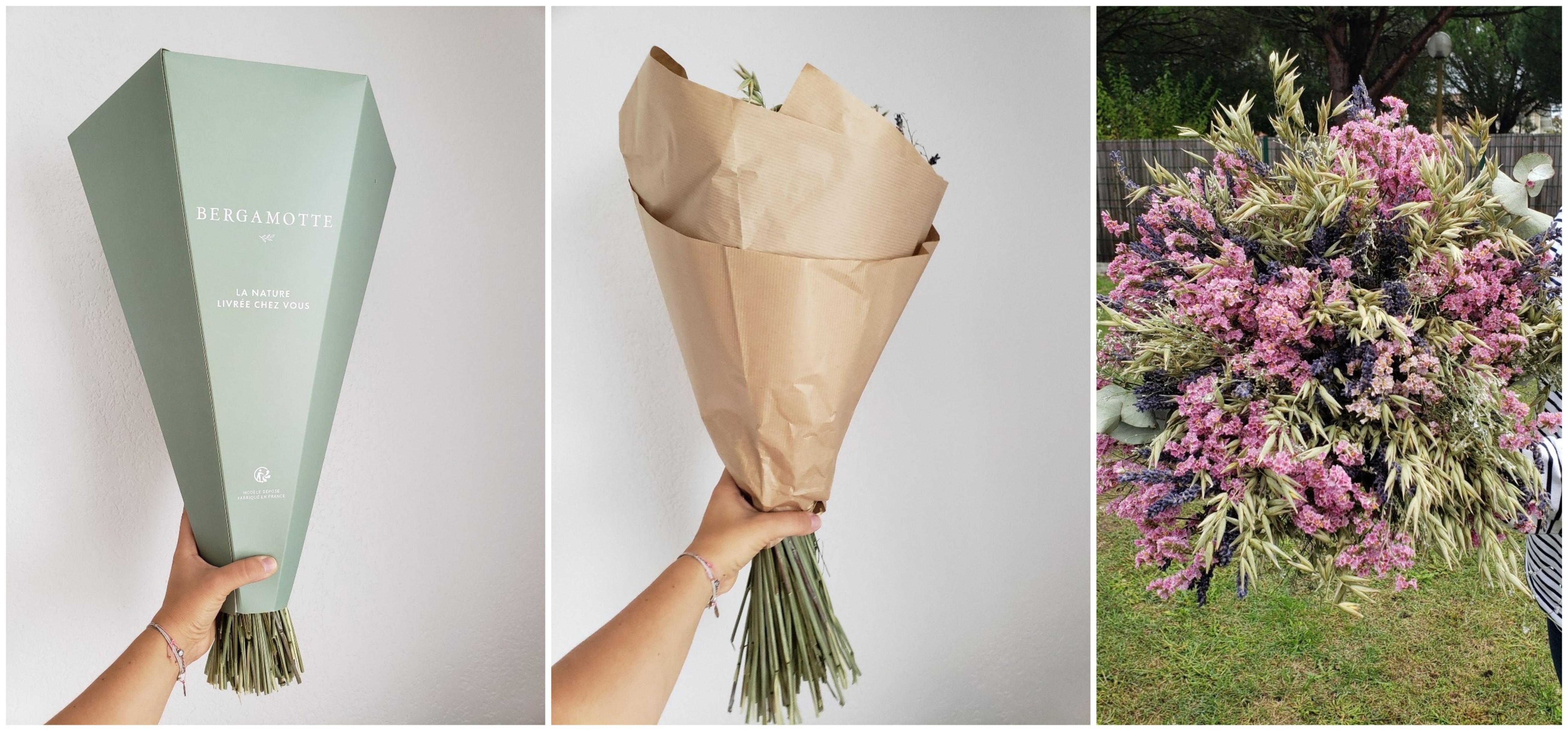 livraison de fleurs Bergamotte