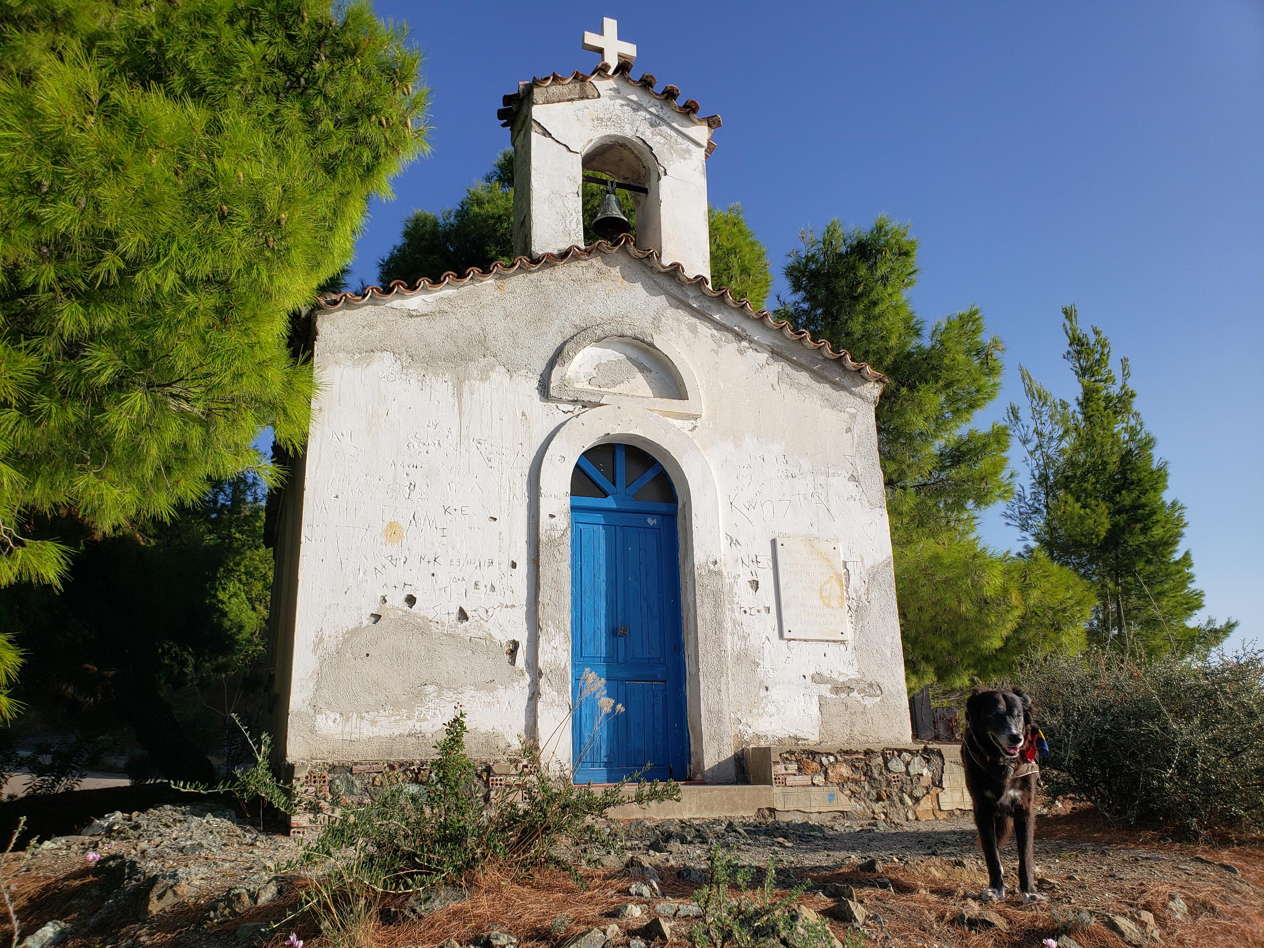 chapelle Limni île d'Eubée