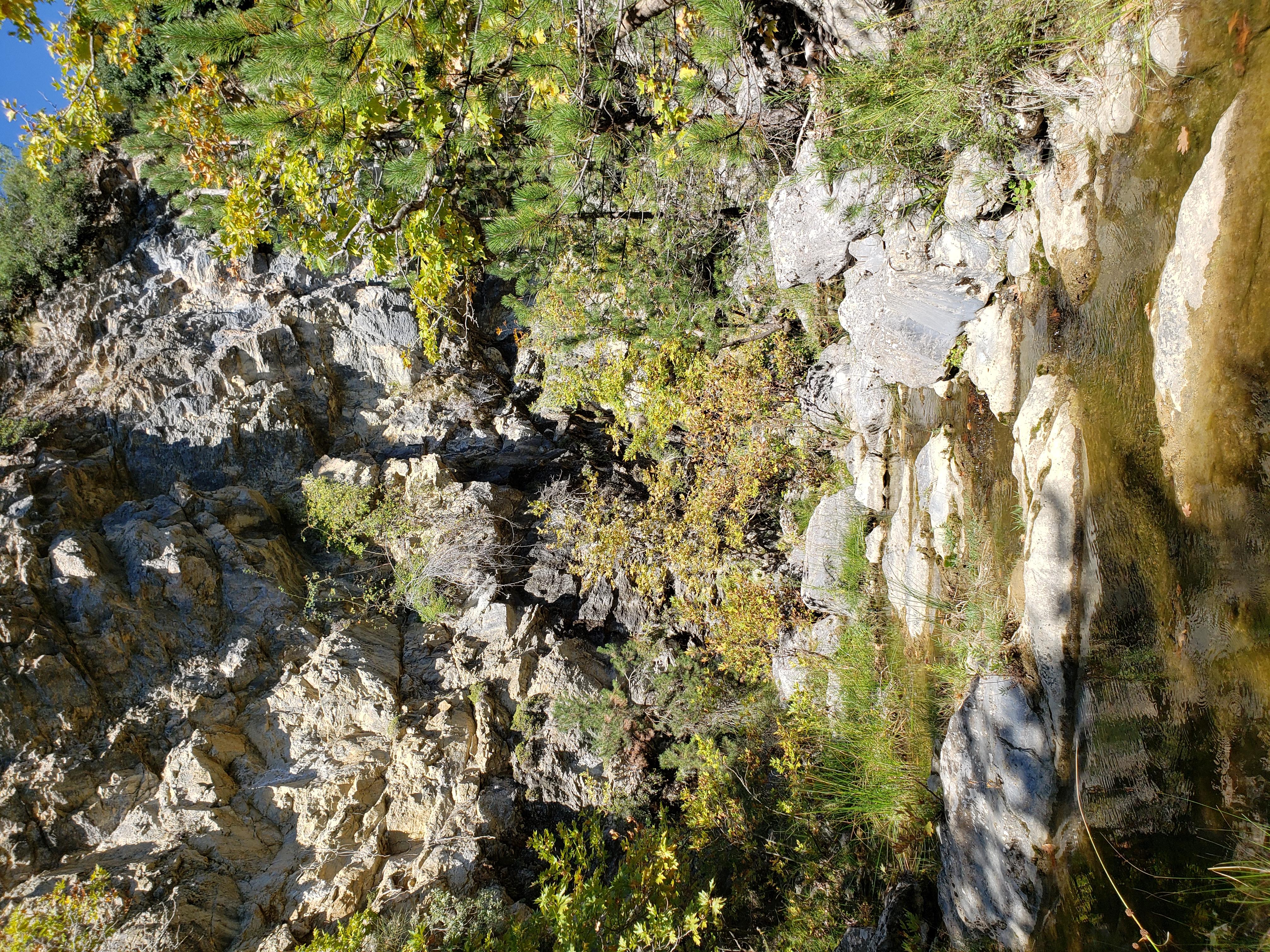 gorges Drimonas waterfall