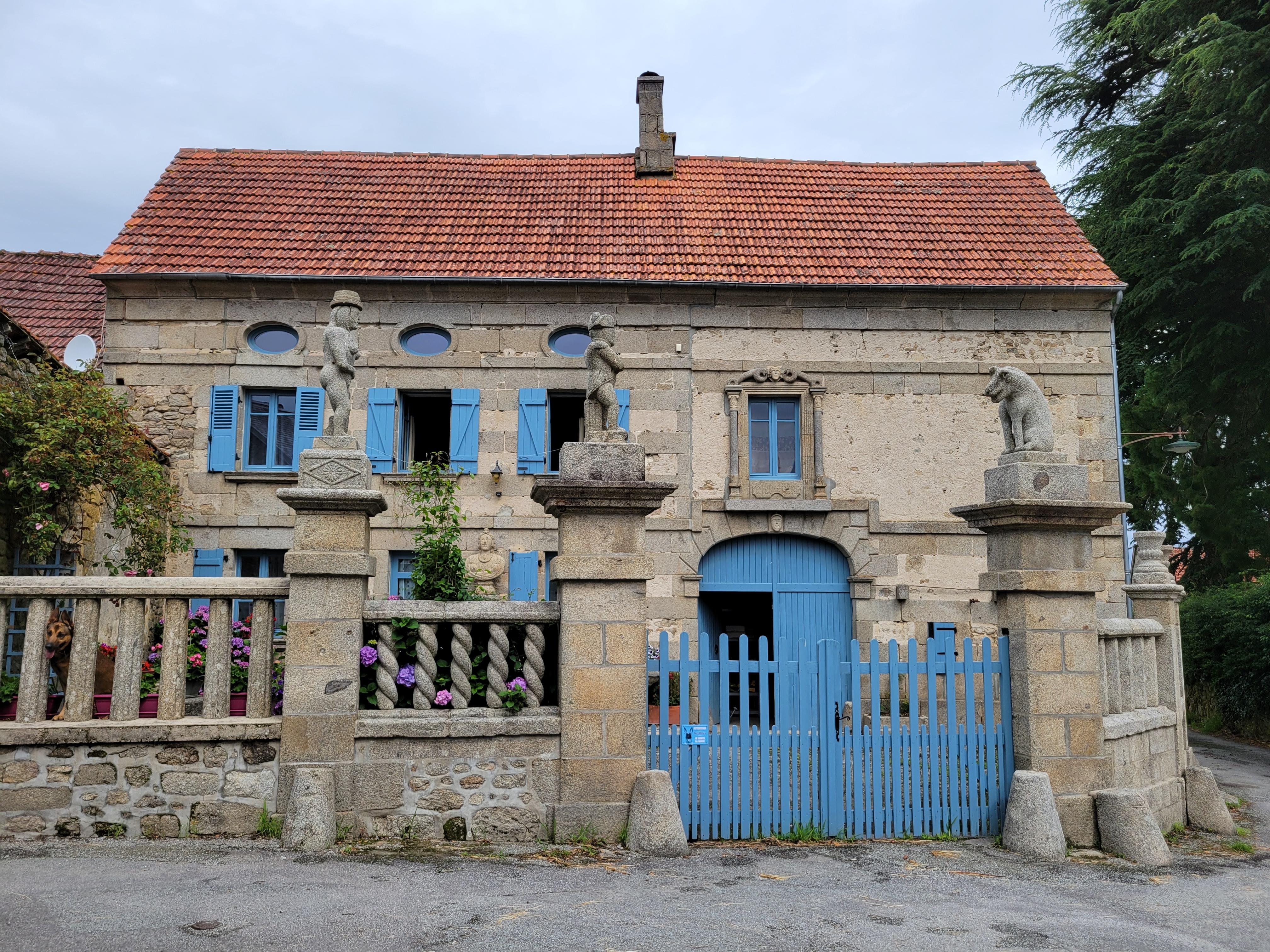 Maison François Michaud village de Masgot