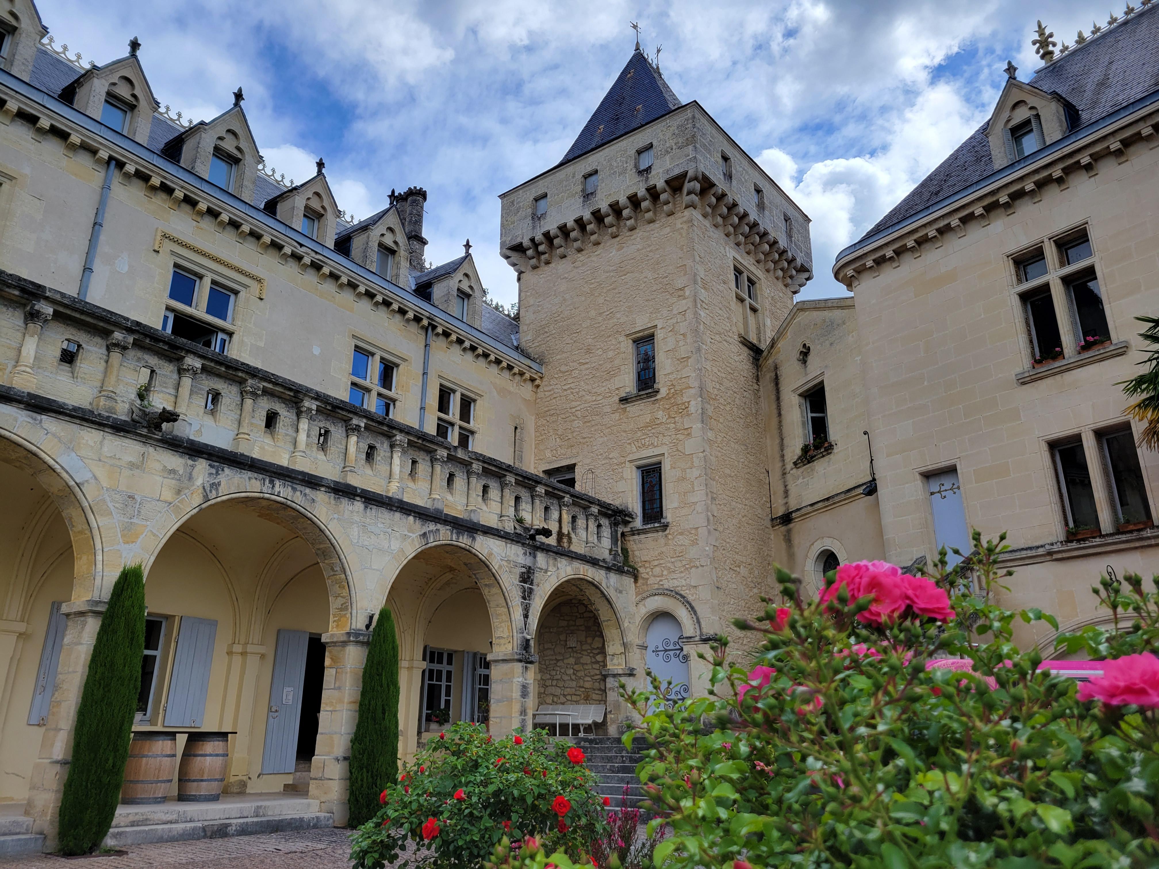 château de la rivière Fronsac